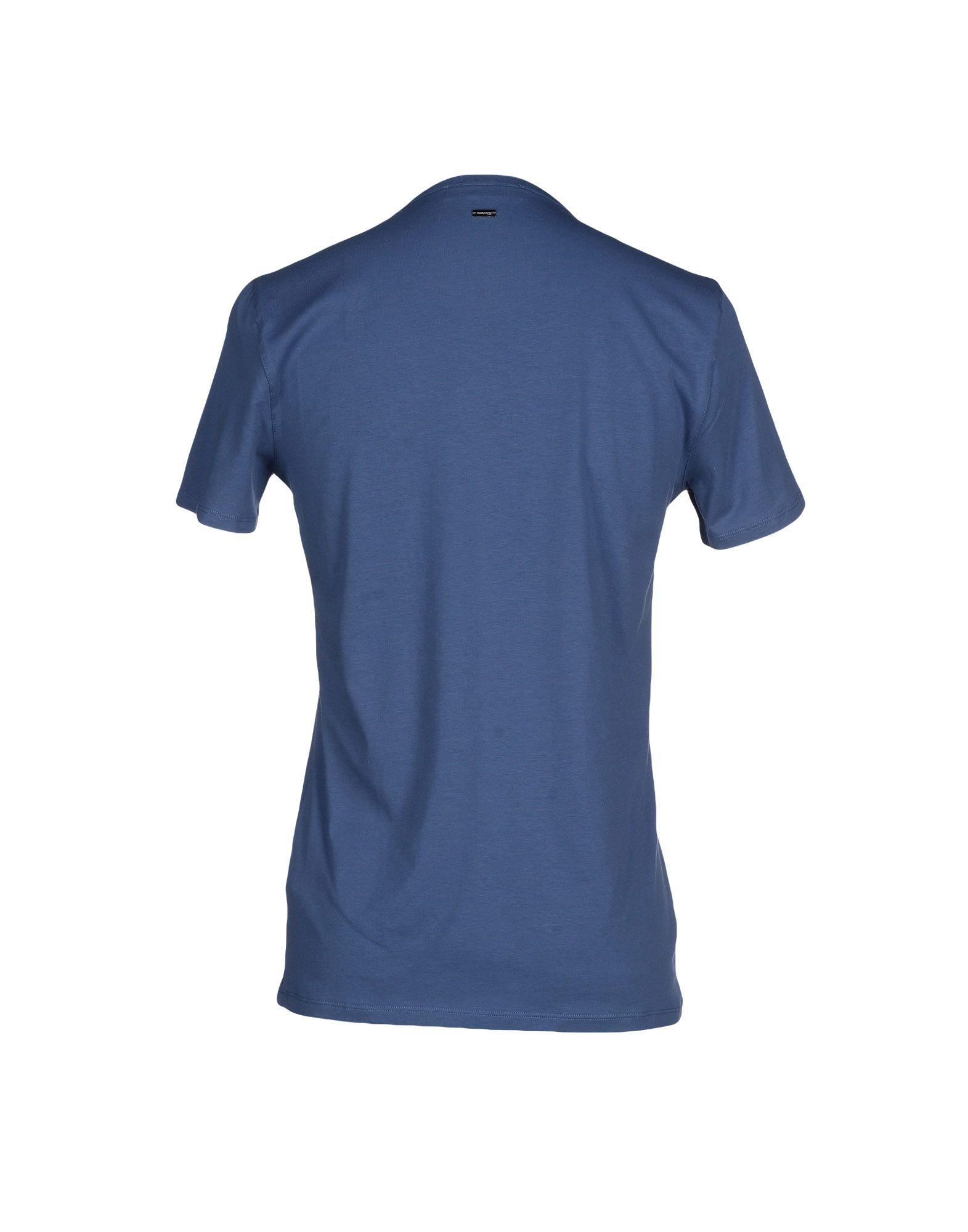 guess t shirt in blue for men lyst. Black Bedroom Furniture Sets. Home Design Ideas