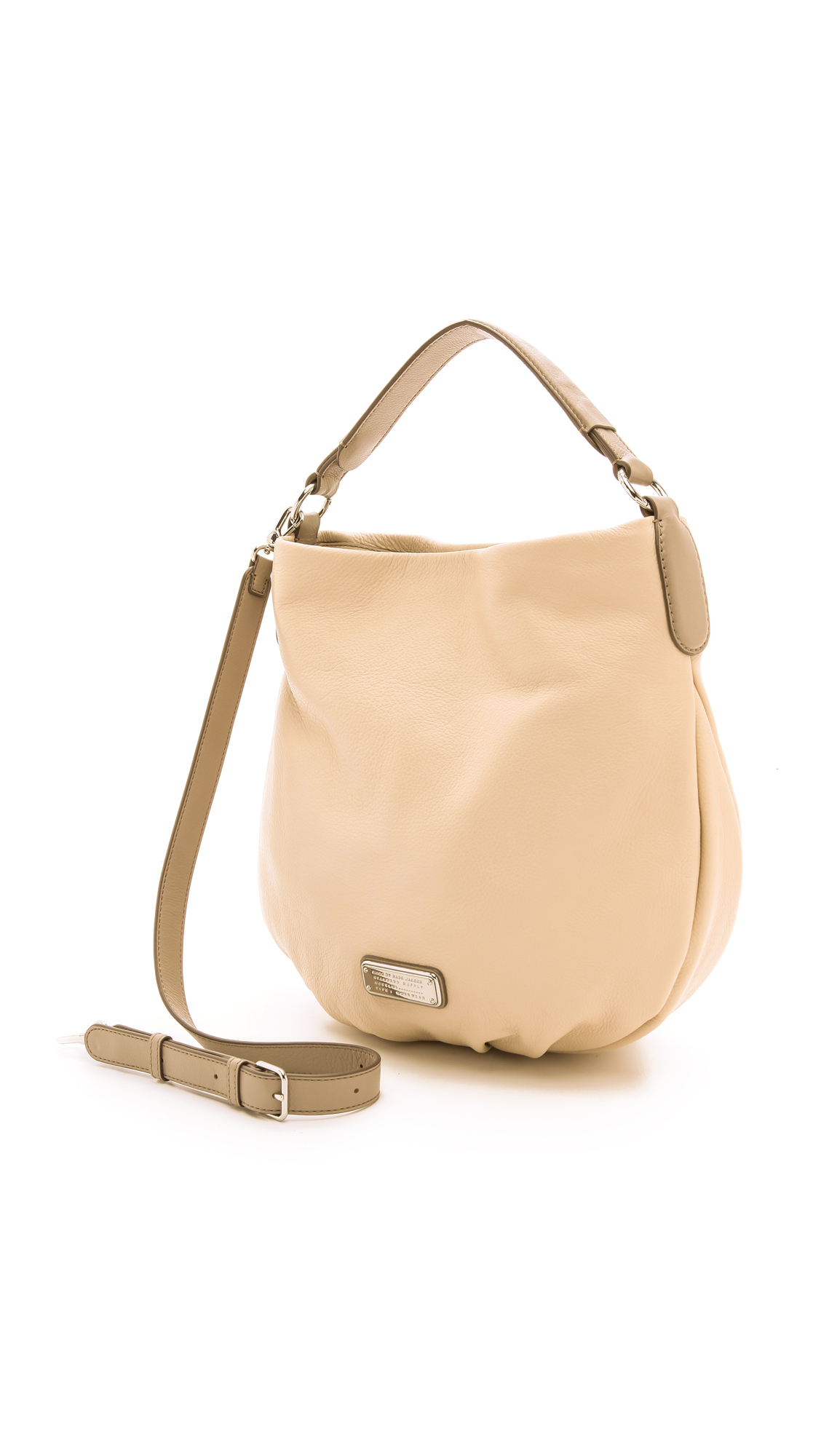 2d1a50103540 Lyst - Marc By Marc Jacobs New Q Hillier Hobo Bag - Light Sand Multi ...