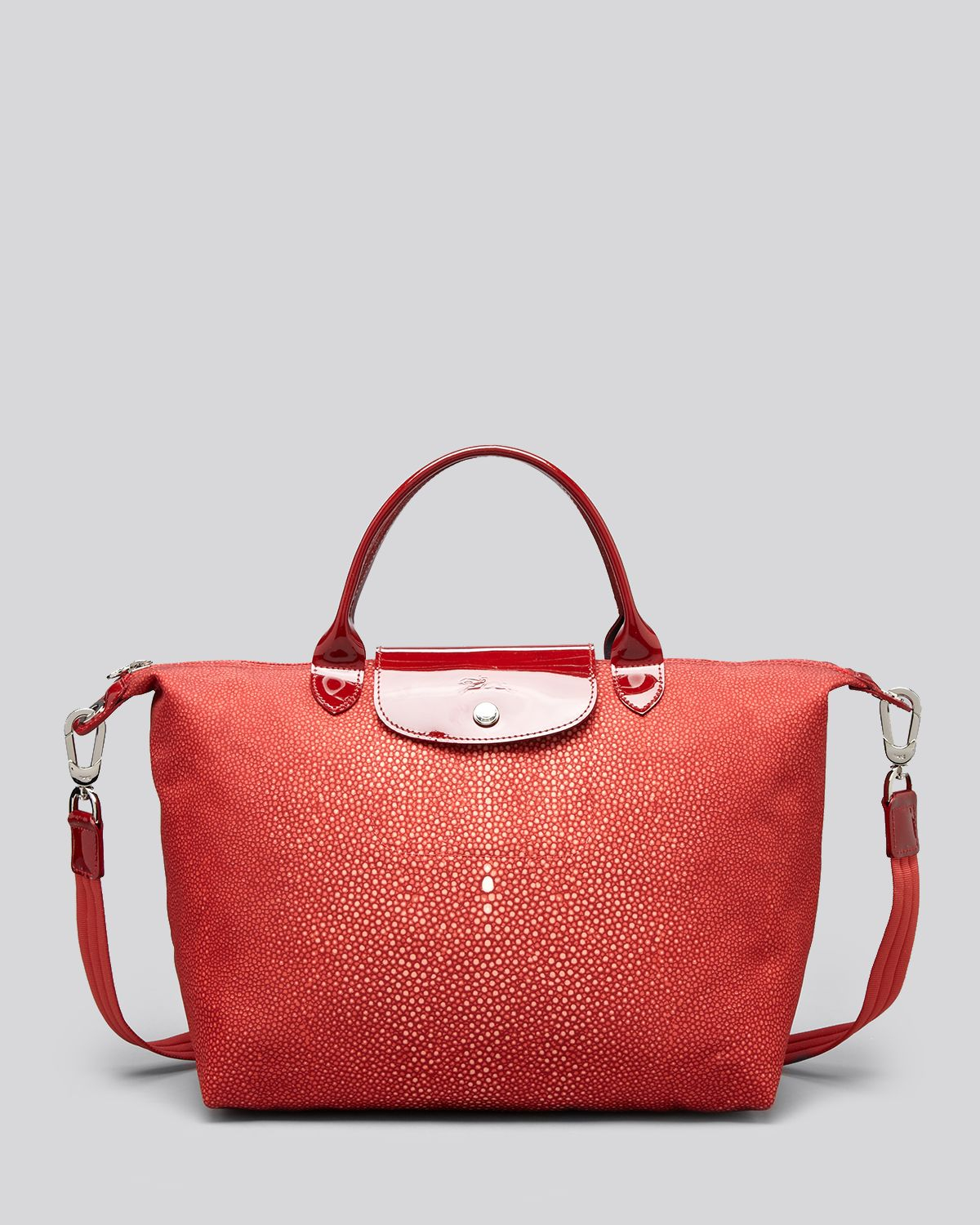 Lyst Longchamp Tote Le Pliage Neo Printed Medium In Red