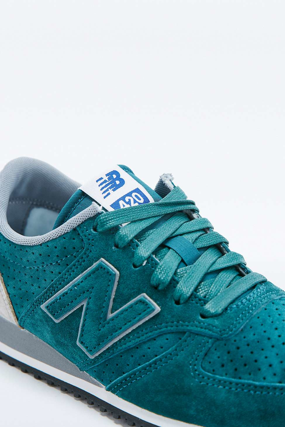 new balance teal trainers