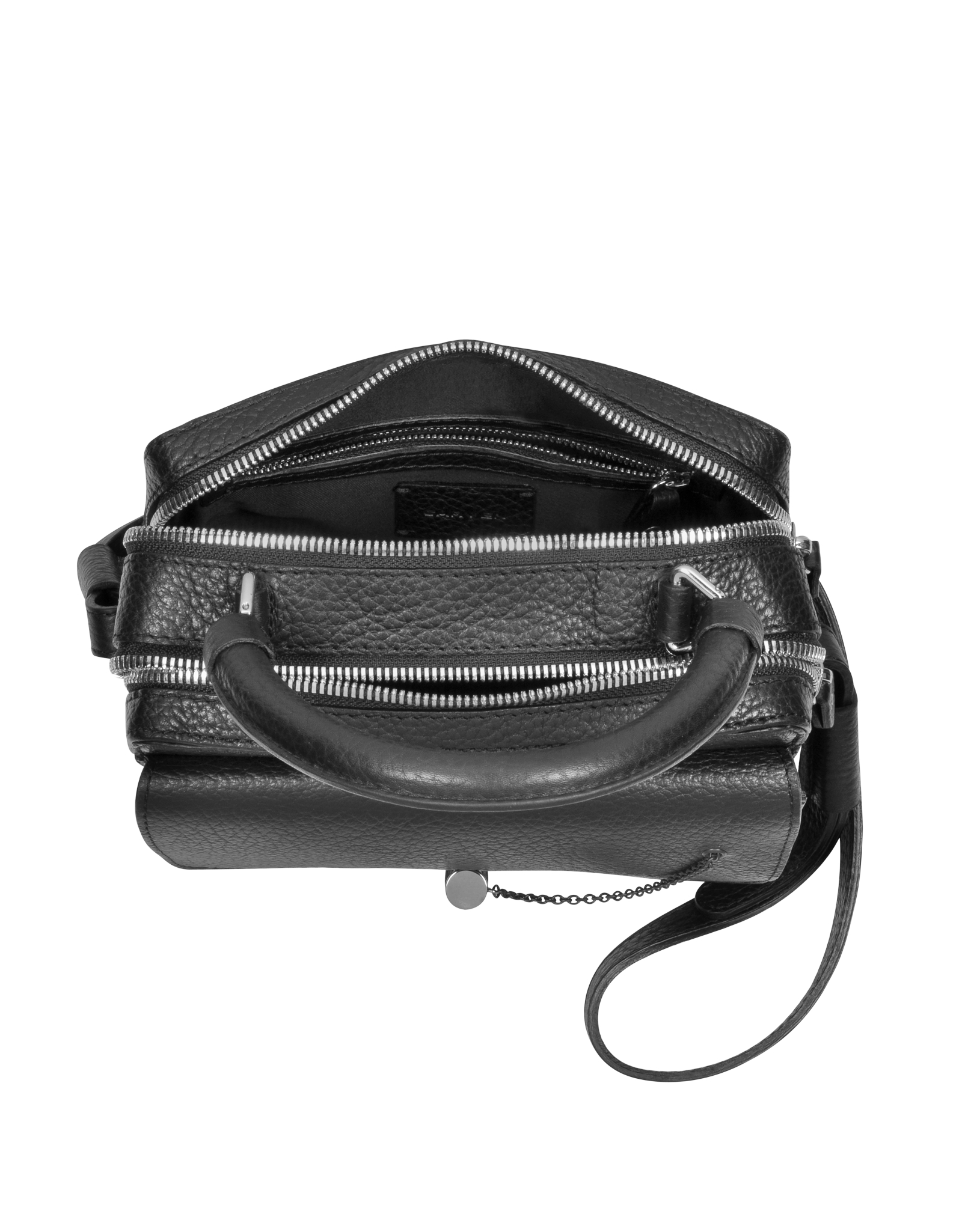 e0a5c854cb0 Carven Malher Petit Black Leather Camera Bag in Black - Lyst