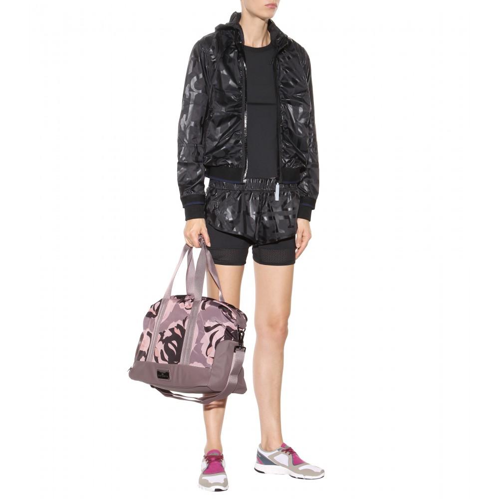 Lyst - adidas By Stella McCartney Small Gym Bag in Pink 2e74b34400362