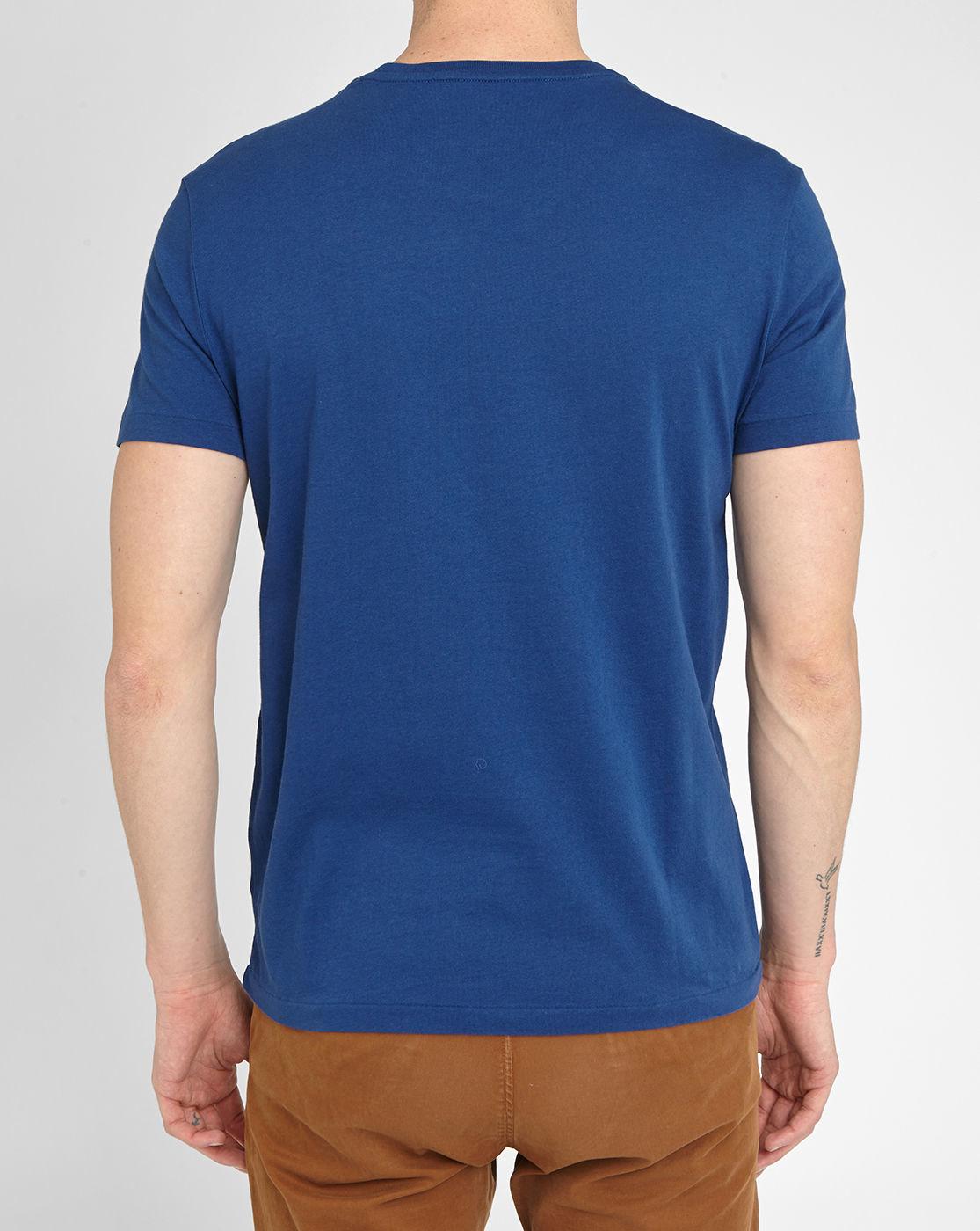 polo ralph lauren royal blue pr custom fit t shirt in blue. Black Bedroom Furniture Sets. Home Design Ideas