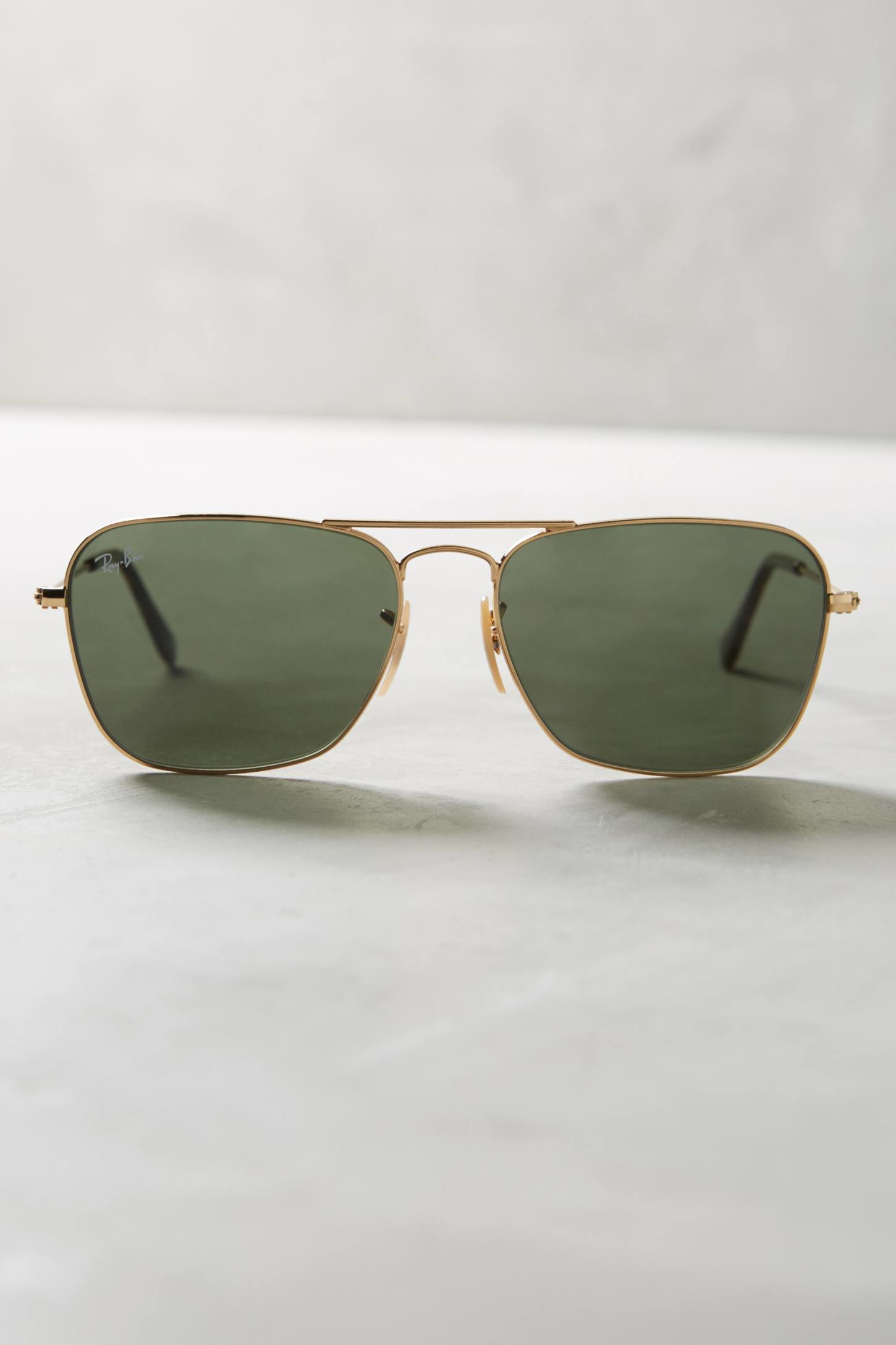 Ray-ban Caravan Havana Sunglasses in Green
