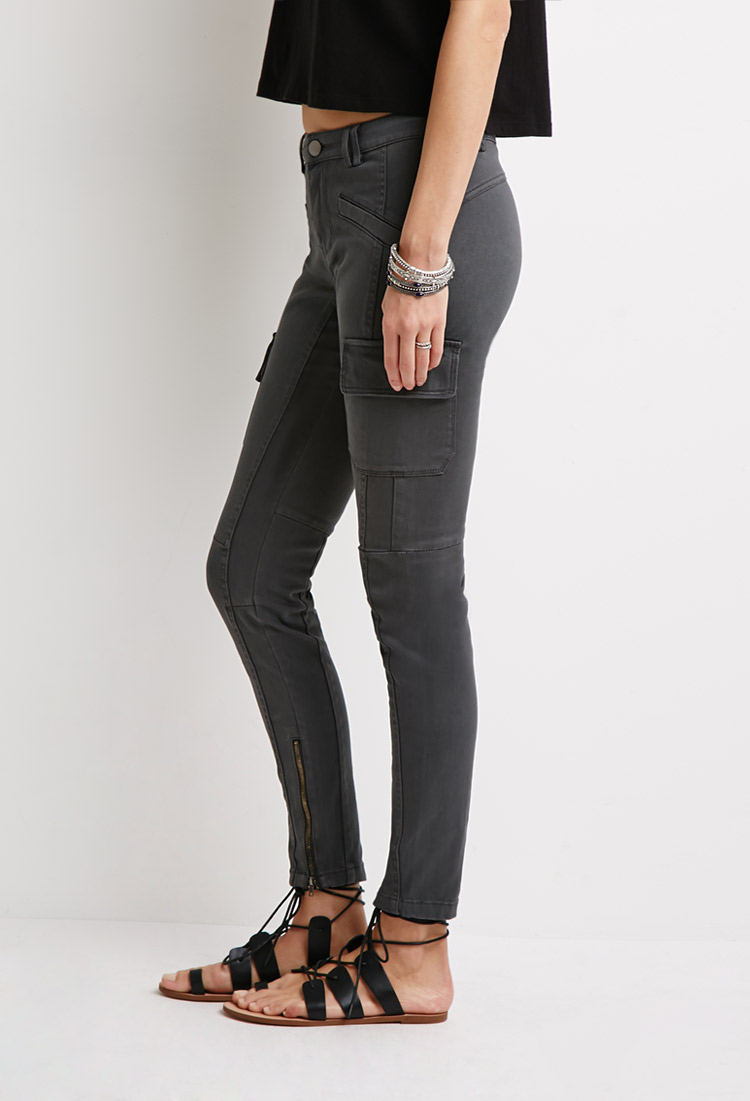 Wonderful Forever 21 Skinny Cotton Twill Cargo Pants You39ve Been Added To The