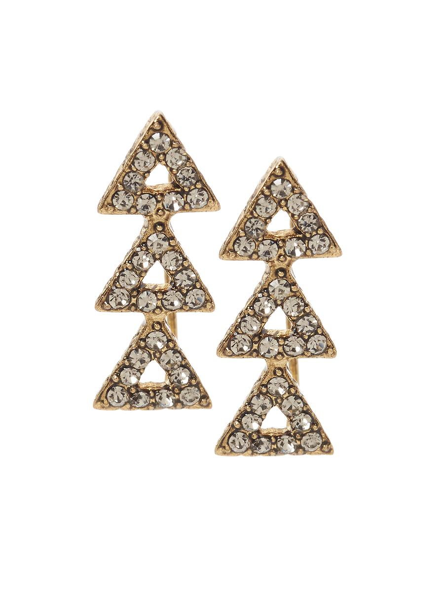house of harlow 1960 tessellation earrings in gold lyst