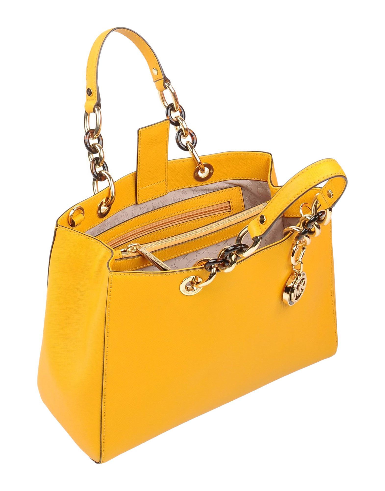 1ba4e12a5855 Lyst - MICHAEL Michael Kors Handbag in Yellow