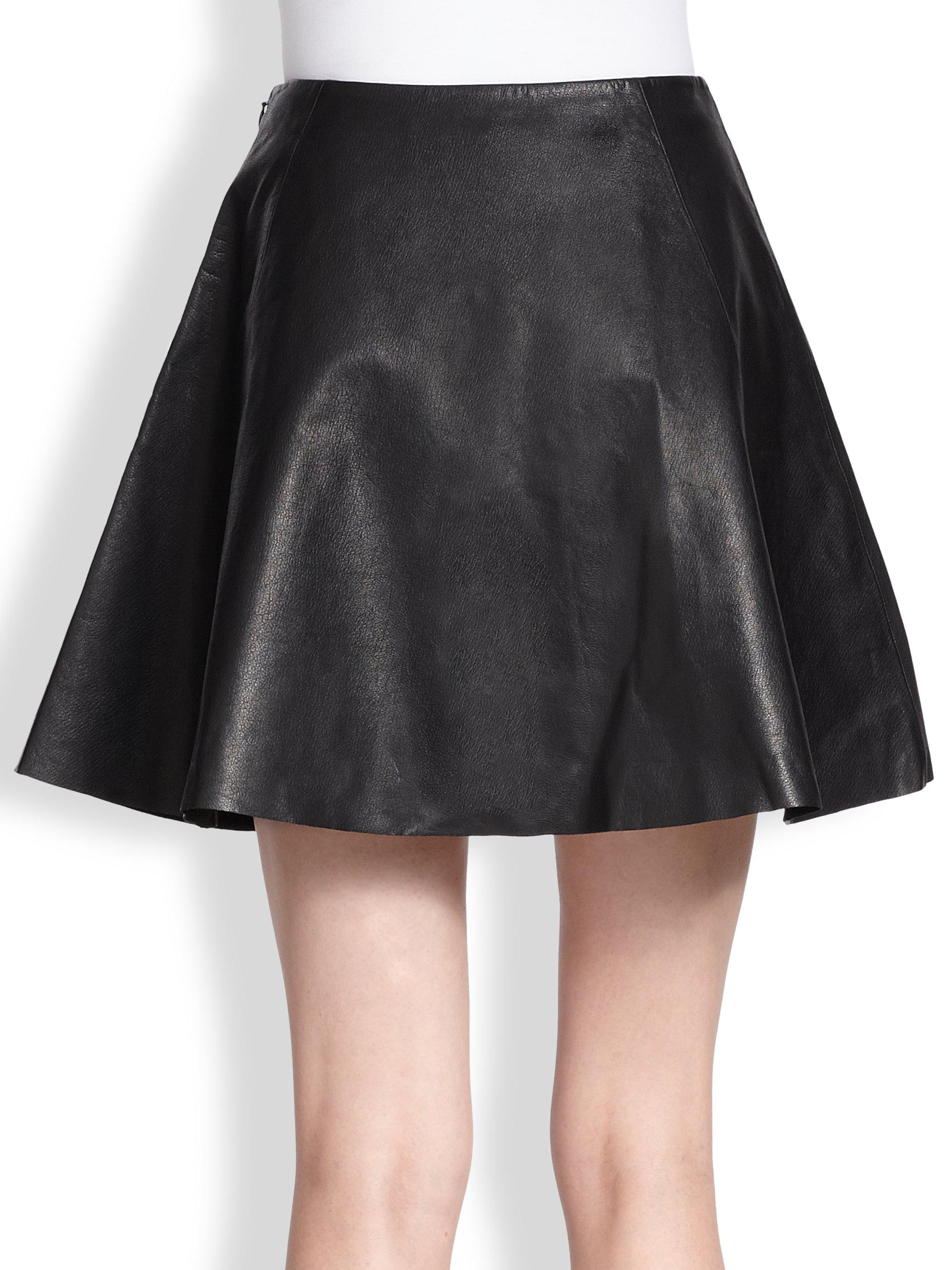 Circle Skirt Black 100