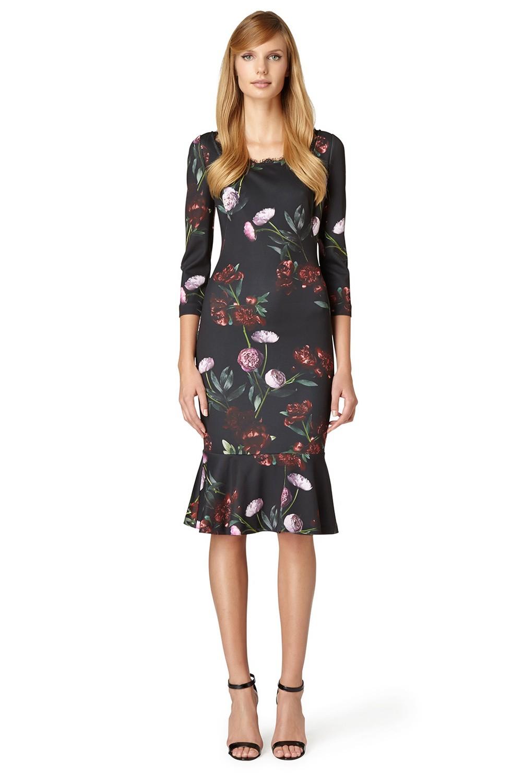 Erin Fetherston Ava Dress In Black Lyst