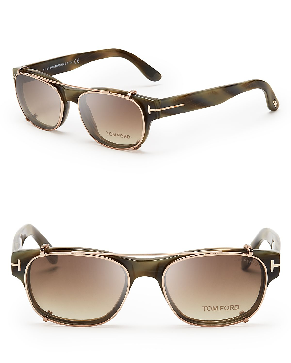 8f1e4d5c225a Lyst - Tom Ford Hollywood Collection Snowden Optical Frames with ...