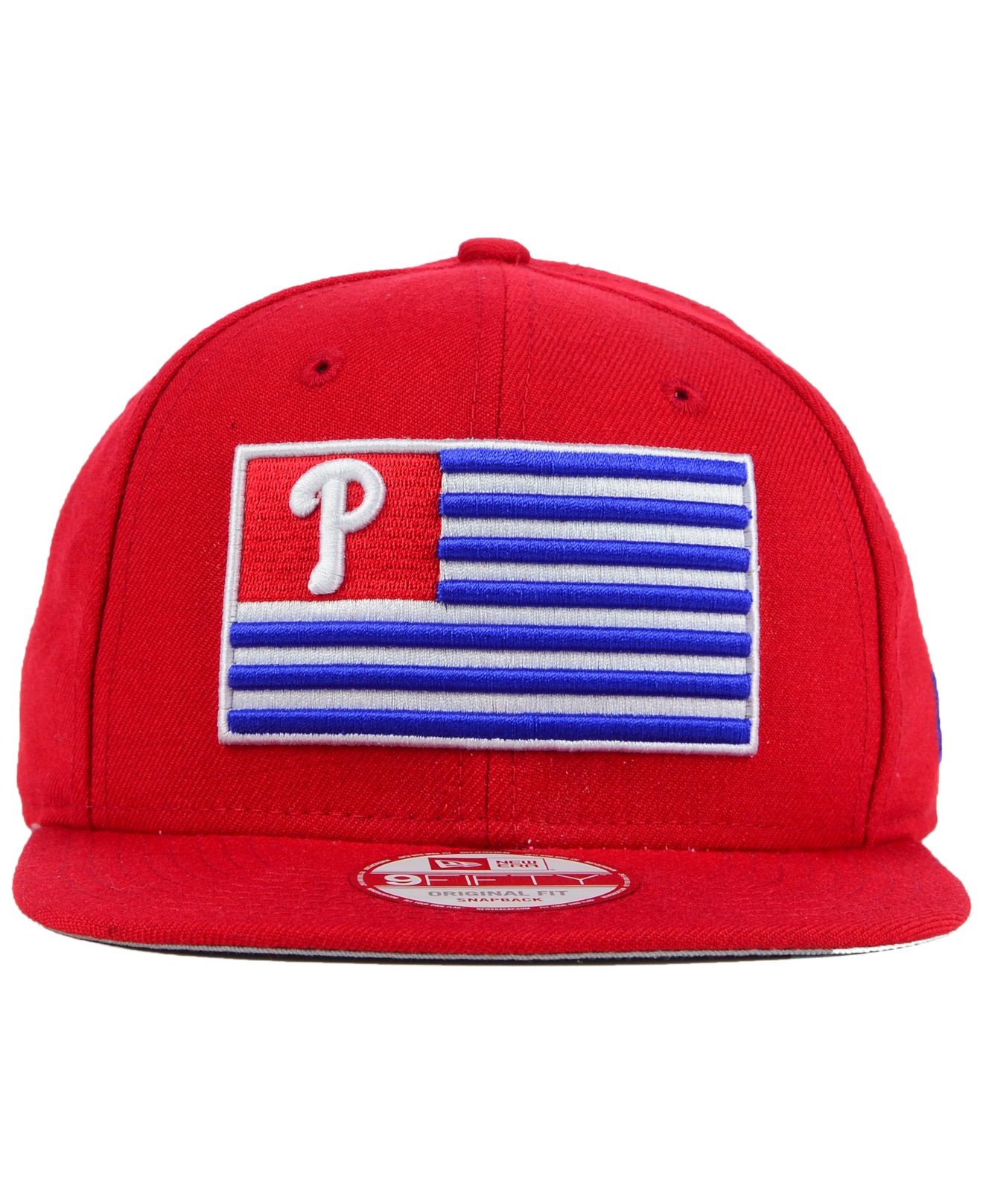 Ktz Philadelphia Phillies Team Merica 9fifty Snapback Cap