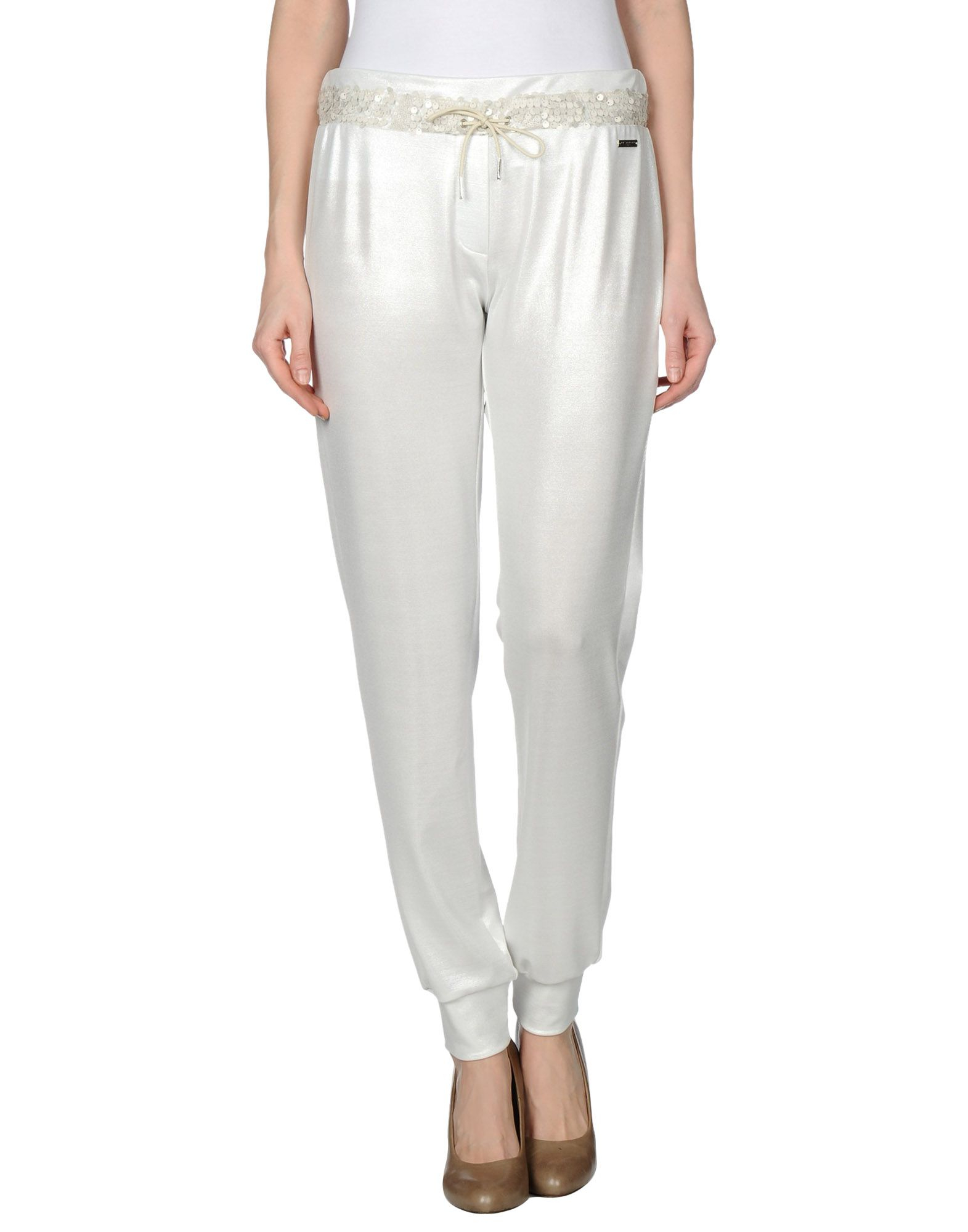 Brilliant Sweet Rosee Casual Trouser In Gray Light Grey  Lyst