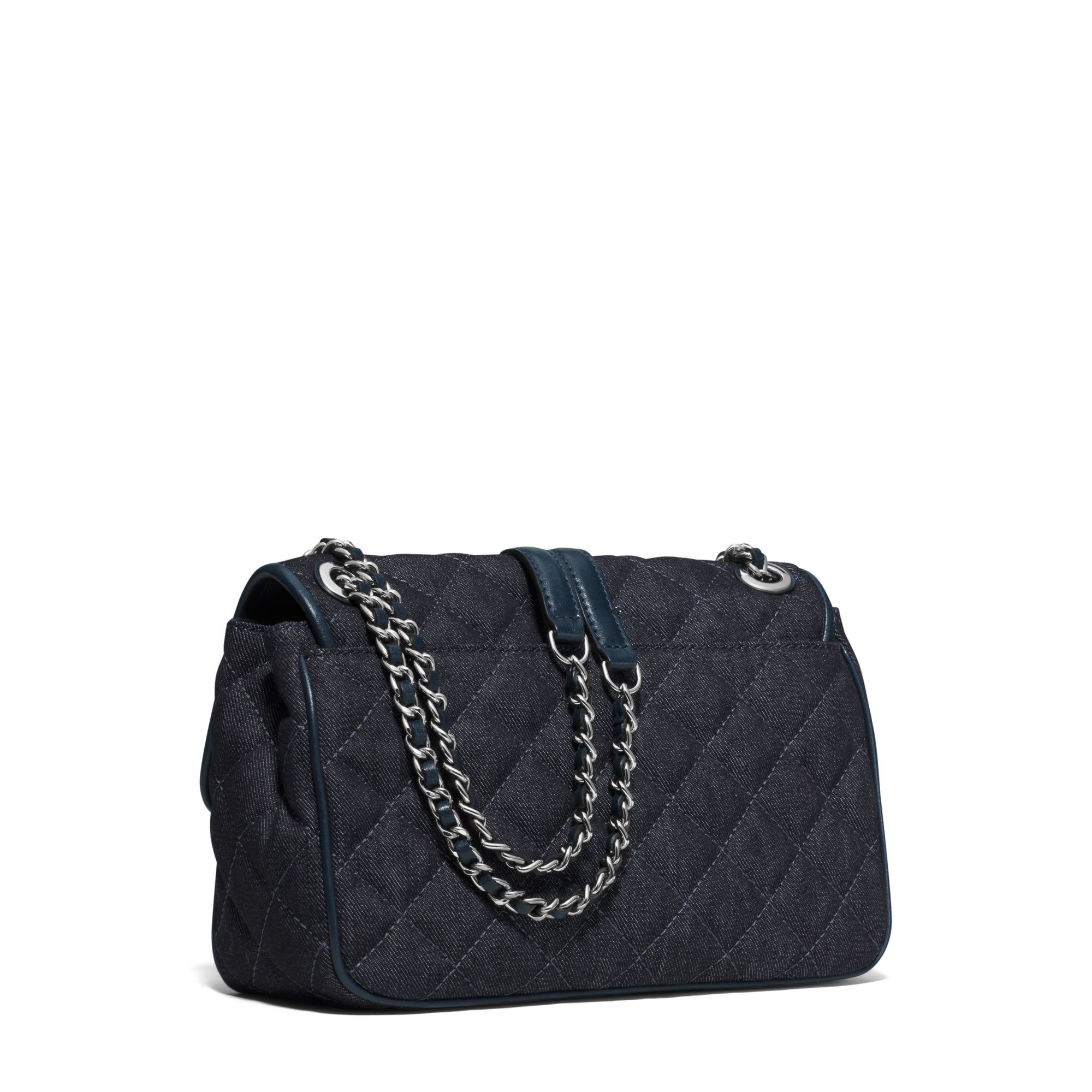 c4567a9a4c1b Lyst - Michael Kors Sloan Large Quilted-denim Shoulder Bag in Blue