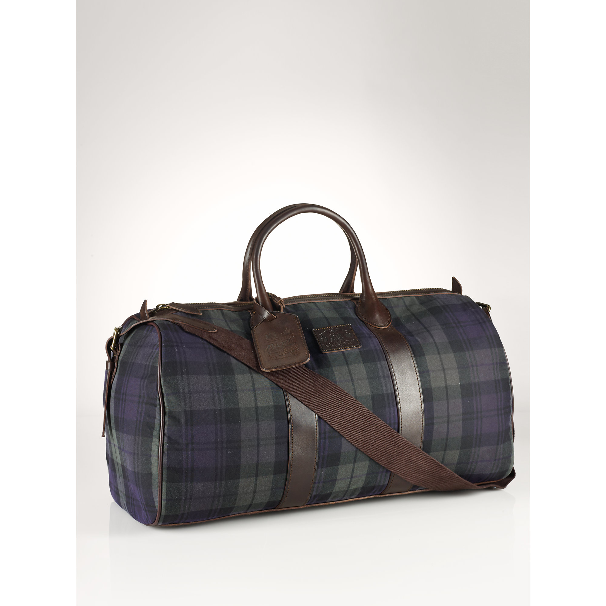 247560068220 Lyst - Polo Ralph Lauren Blackwatch Oilcloth Duffel in Blue for Men