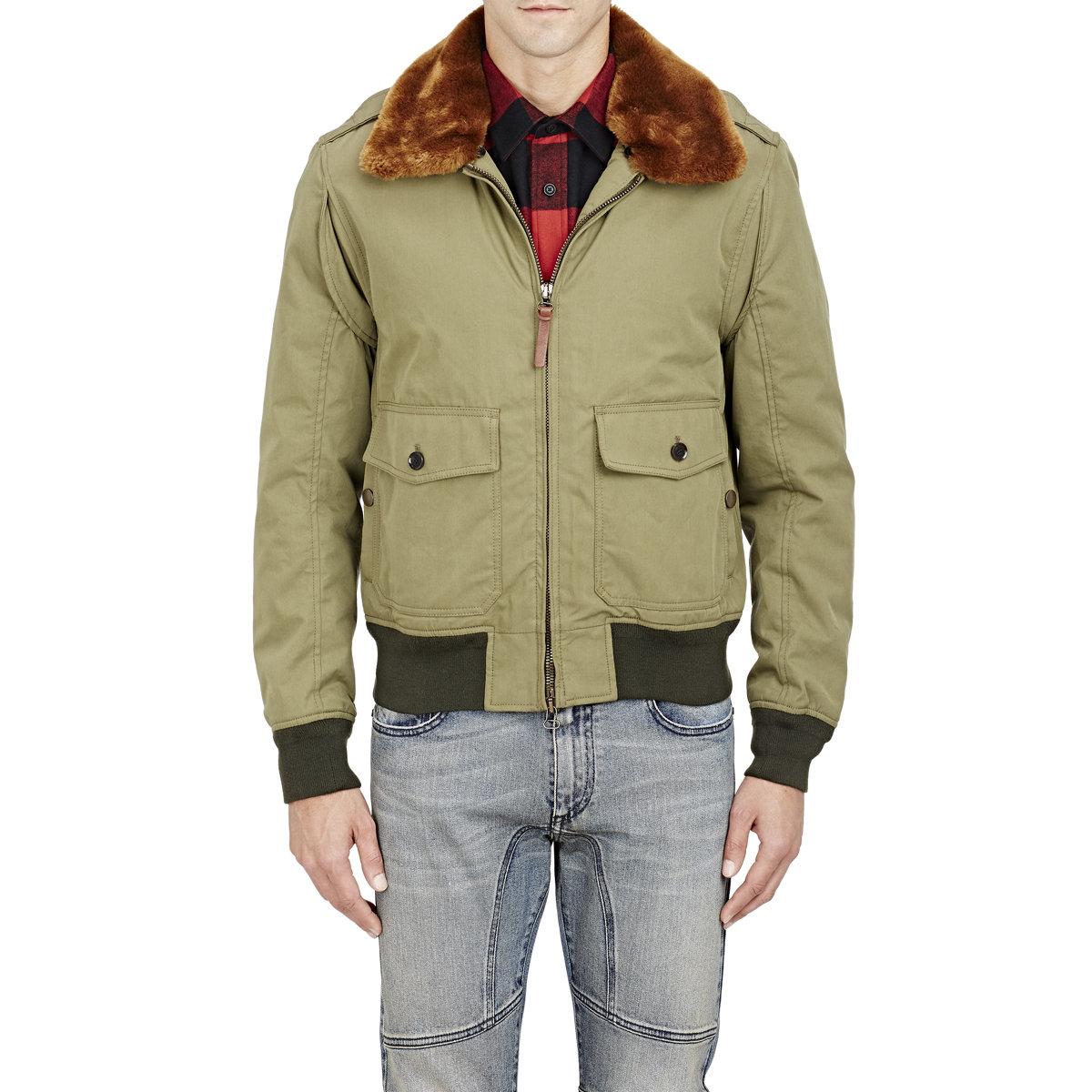 Belstaff Green Bomber Jacket