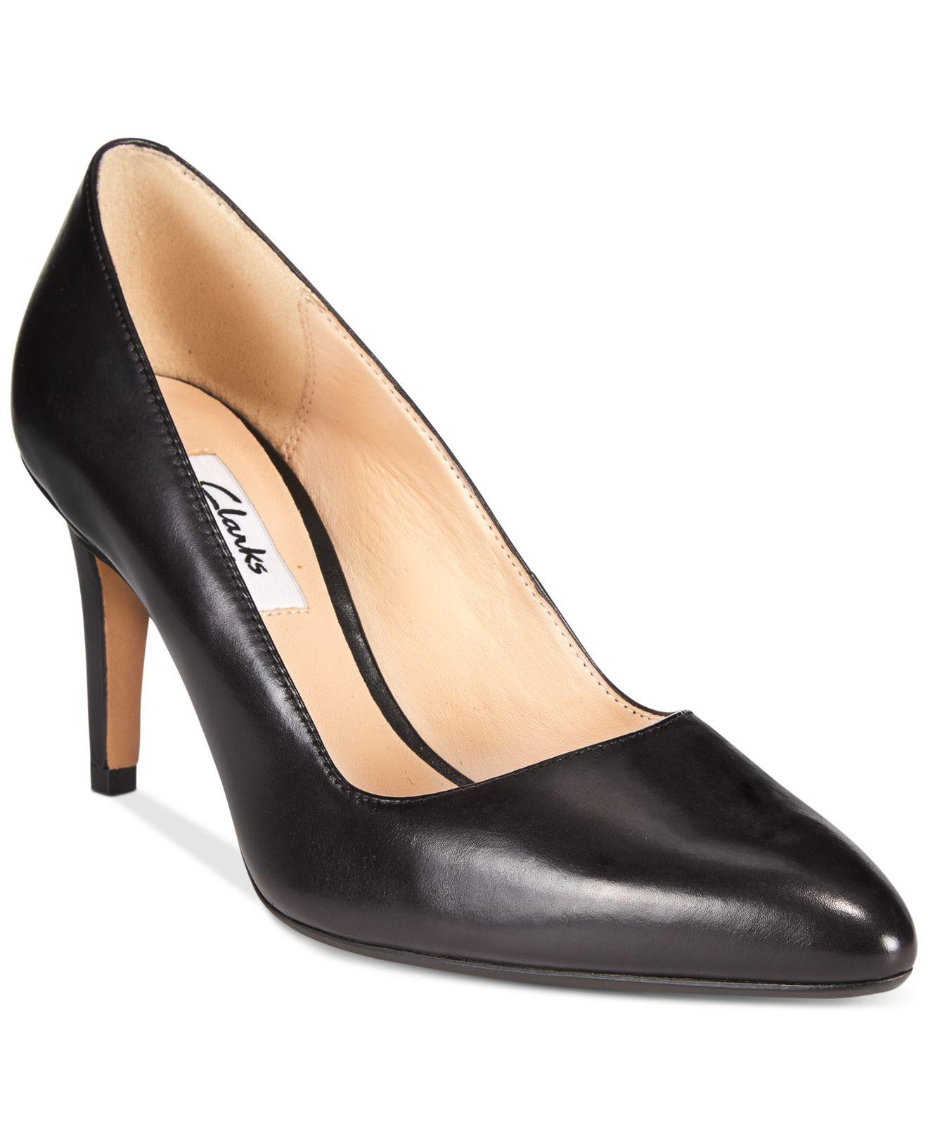Clarks Shoes Black Pumps