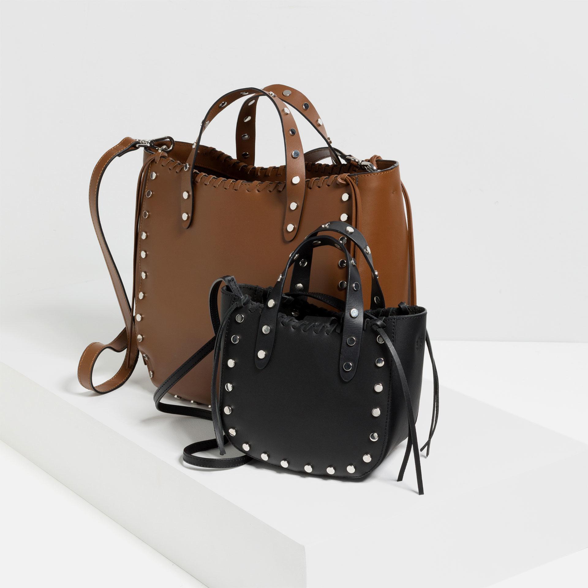 Mini leather tote bag zara - Zara Shoulder Bag Gallery