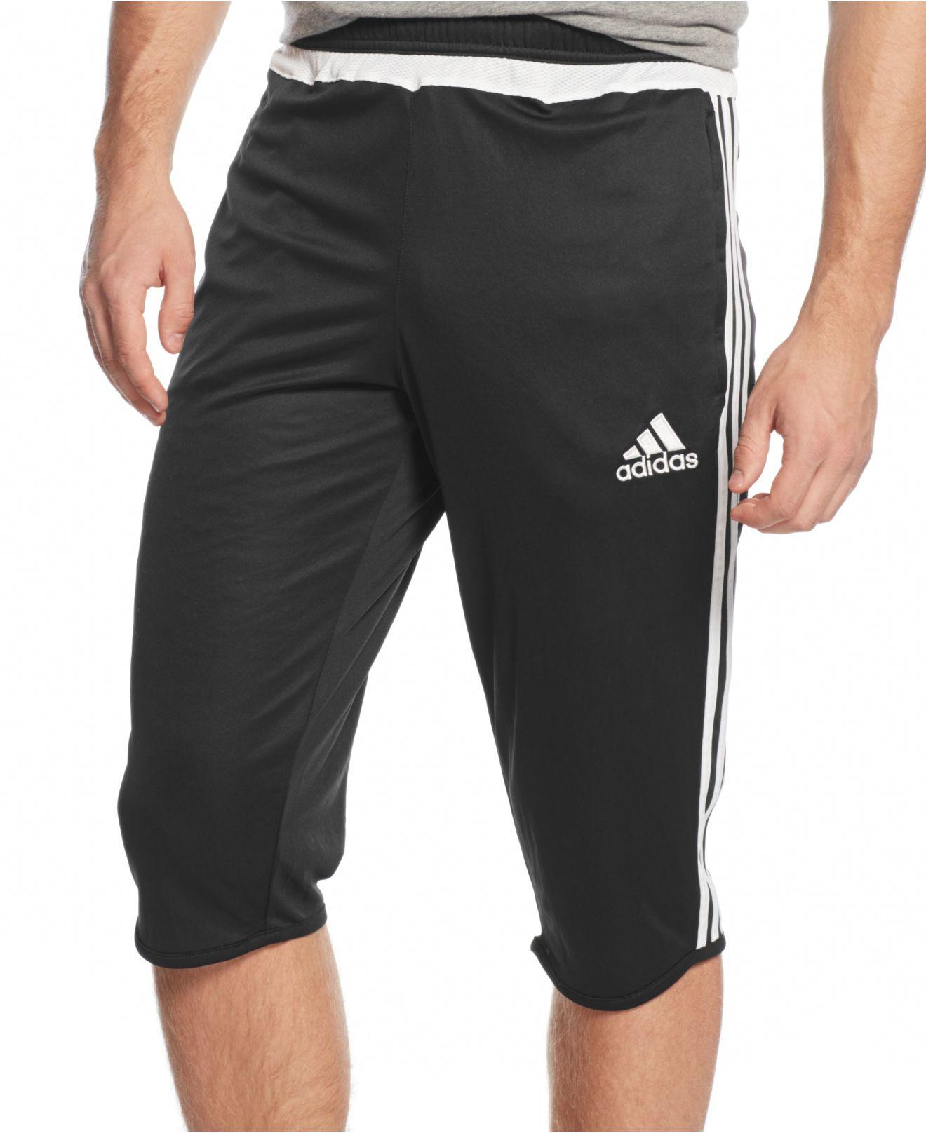 fc70528e2 Lyst Adidas Originals Tiro 15 3 4 Length Cliool Training Pants. Hip  Measurement2 3. Adidas Mens Shorts ...