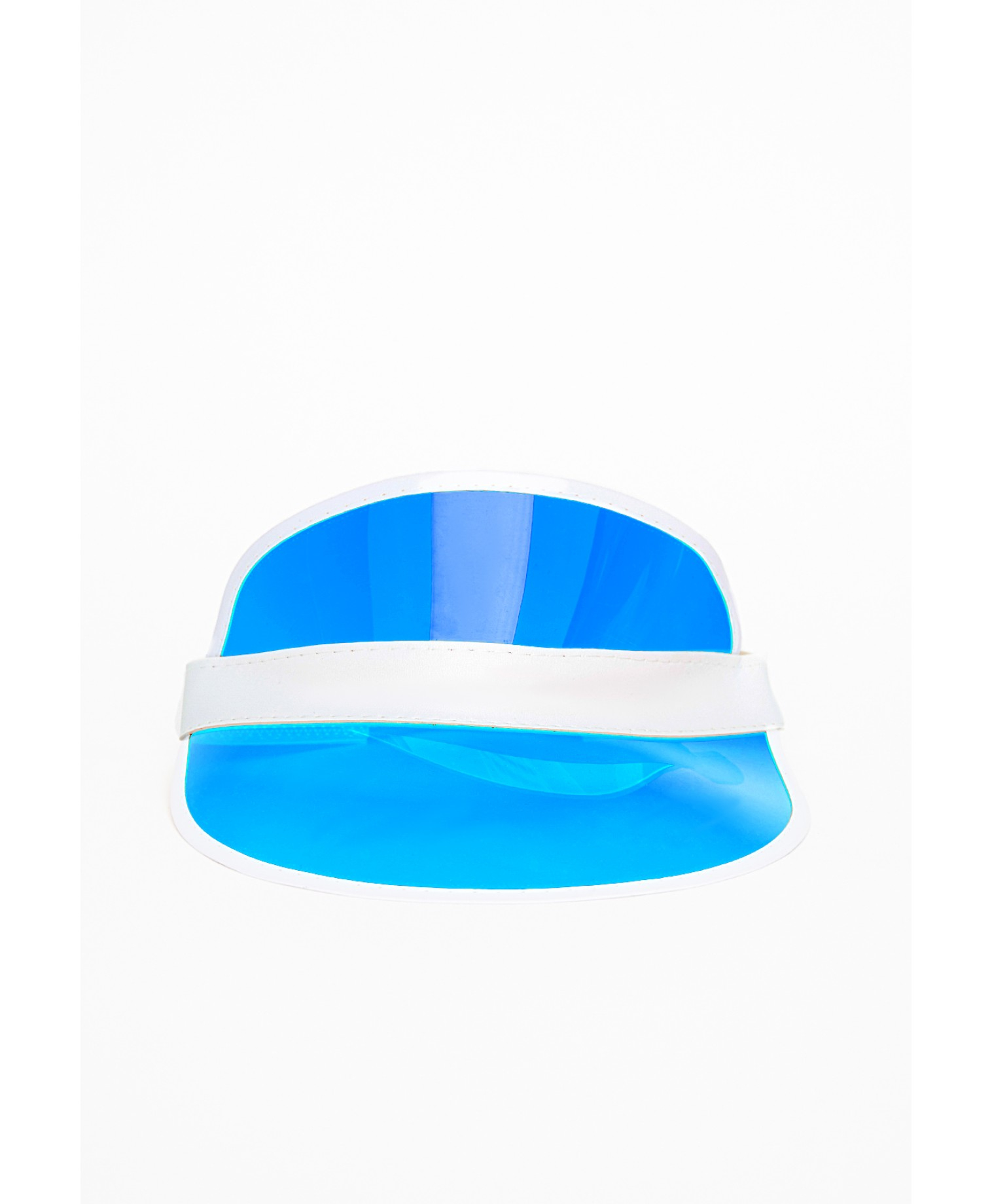 Lyst - Missguided Nazeza Blue Sun Visor - Campaign in Blue 41b5aec28c7