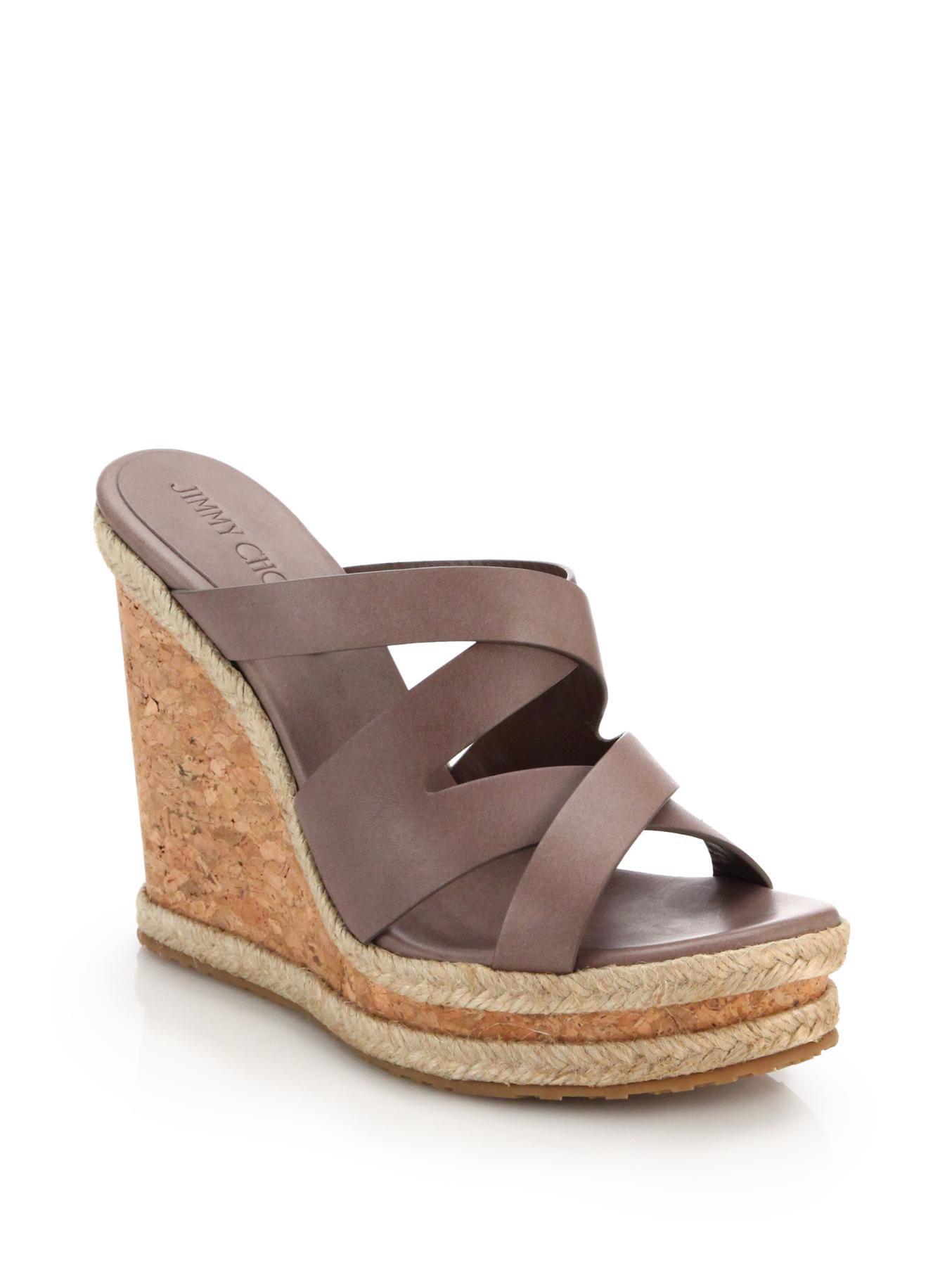 Jimmy Choo Mens Designer Brown Leather Shoes