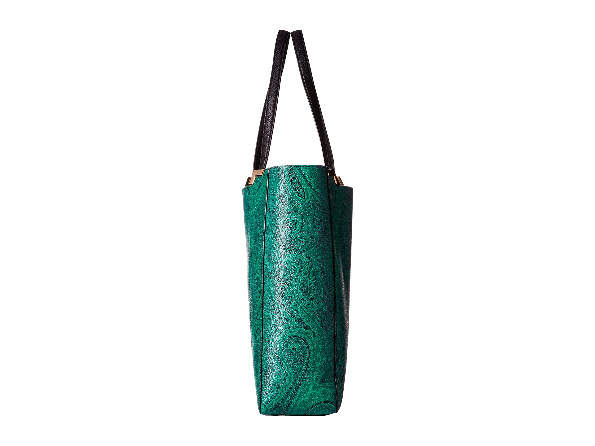 e726db3952 Lyst - Lauren by Ralph Lauren Acadia Paisley Tote in Green