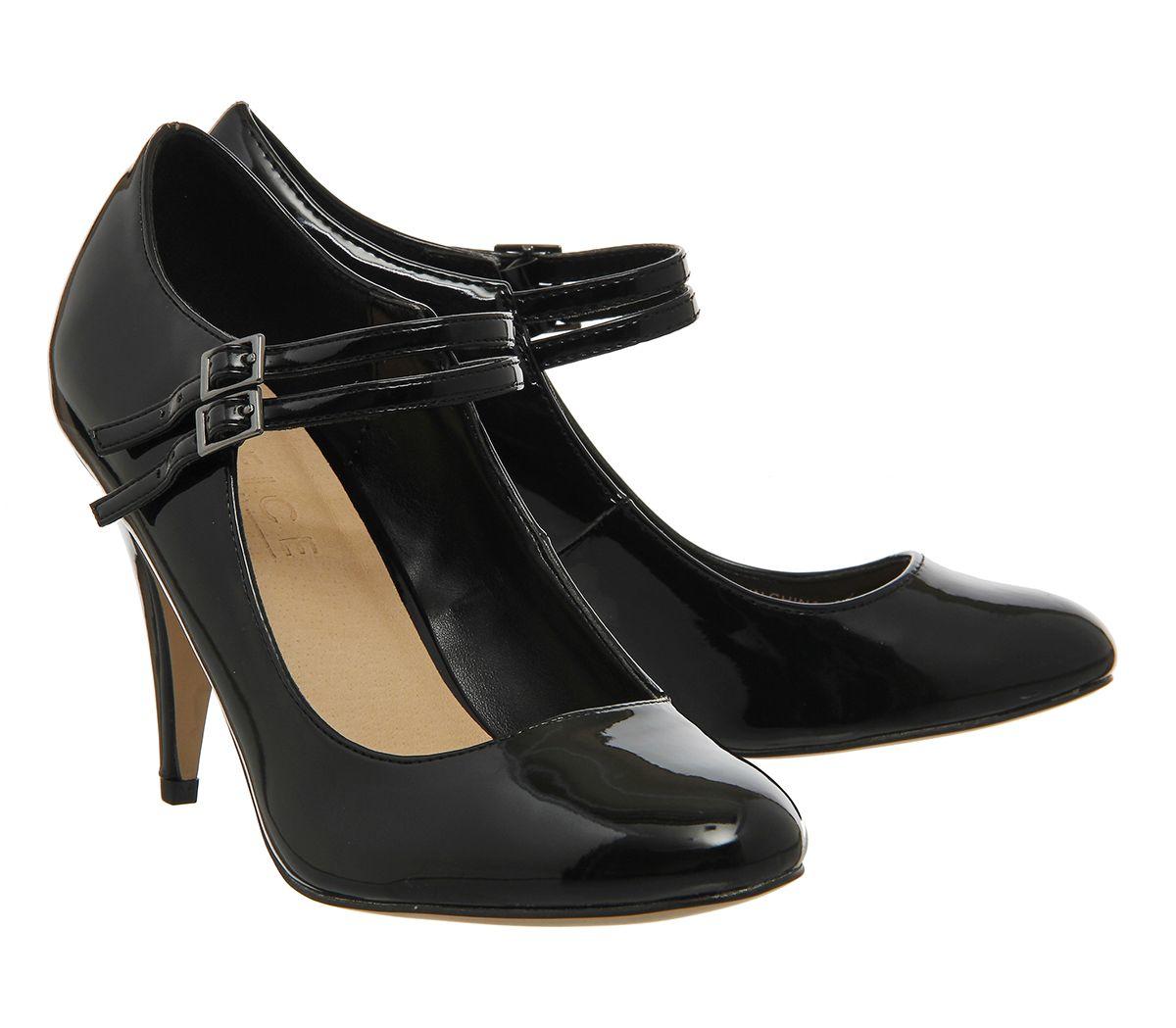 Black Court Heels