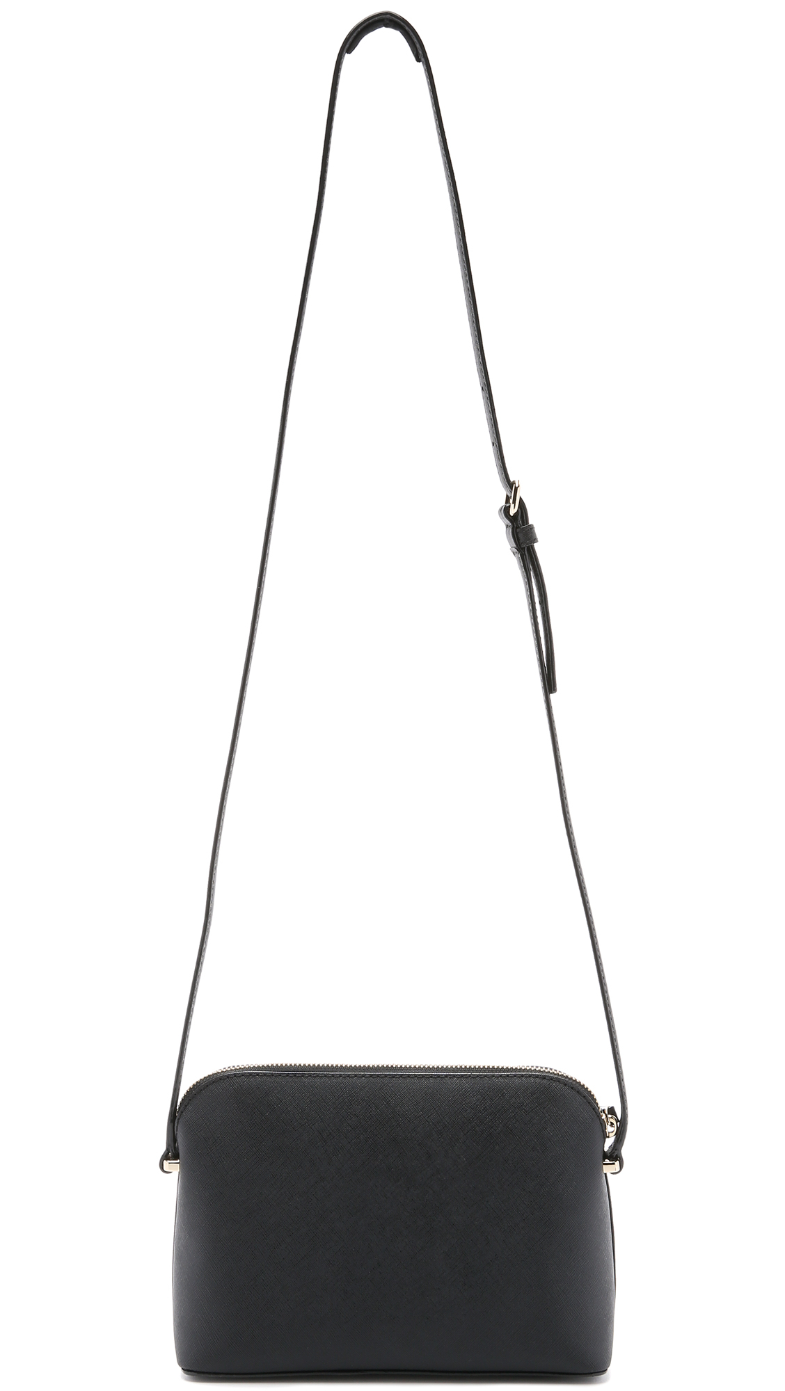 aef0ed874bc1 Lyst - Kate Spade Mandy Dome Cross Body Bag - Black in Black