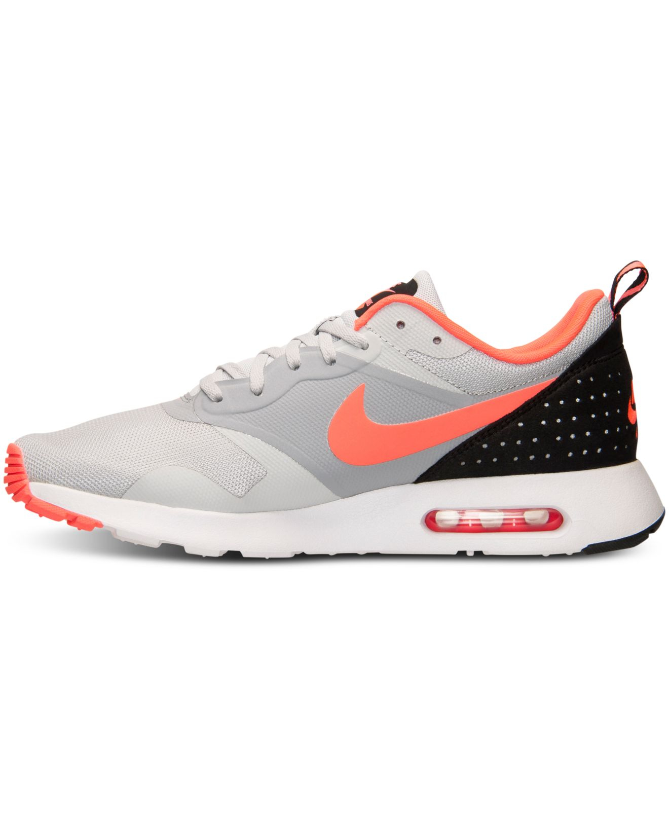 separation shoes c3855 dc29d Nike Men s Air Max Tavas Running Sneakers From Finish Line in Orange ...