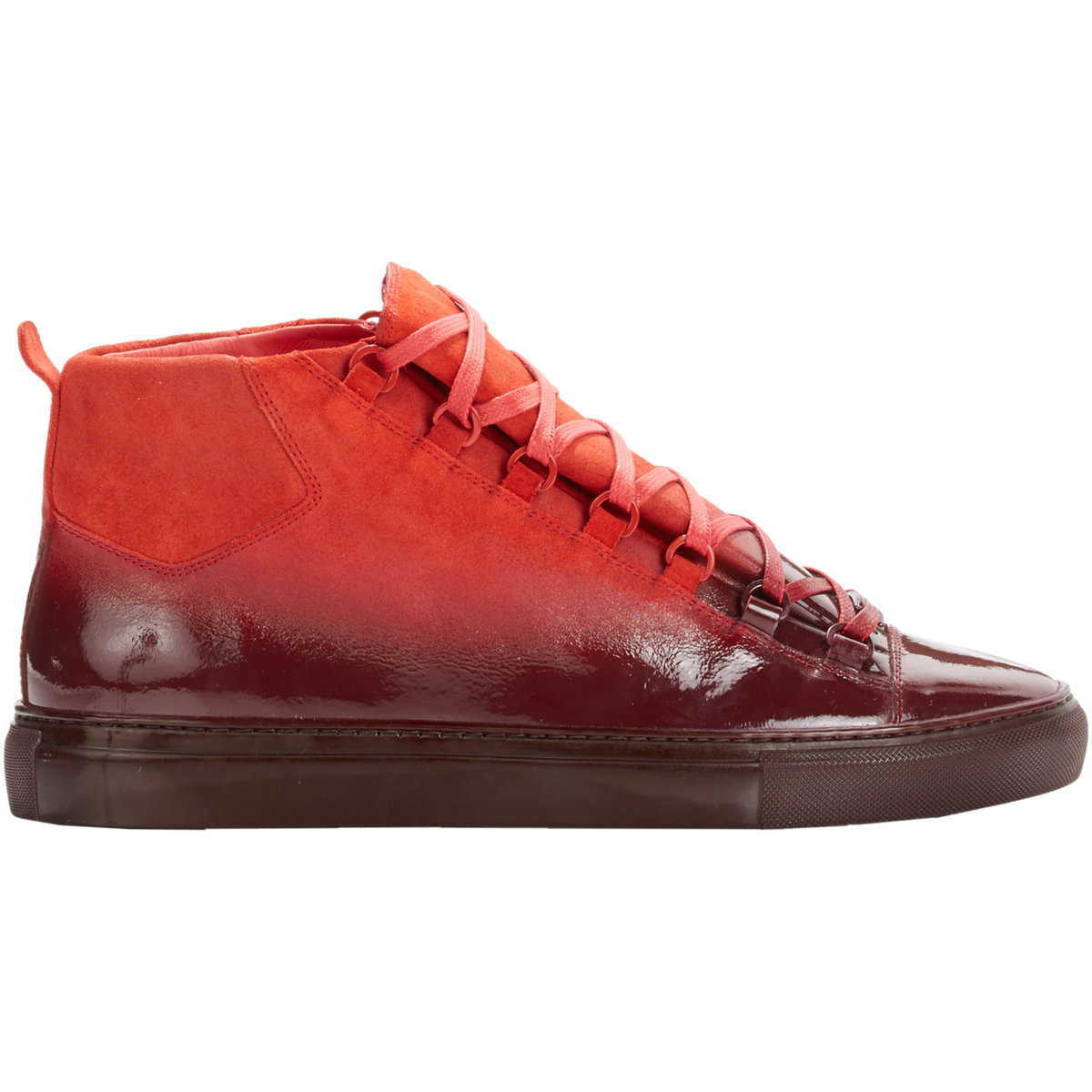Browse Stylights collection of Mens Balenciaga® Shoes: Best sellers up to −41% products Variety of colors › Shop now! Balenciaga Shoes for Men. Balenciaga. Mens Speed Knit Sneakers-Red Size 7 M. USD $ Delivery: free. Balenciaga.