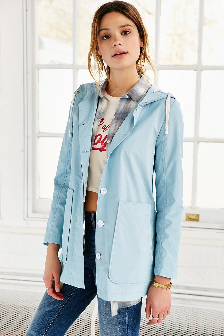 Bdg New Fisherman Rain Coat in Blue | Lyst