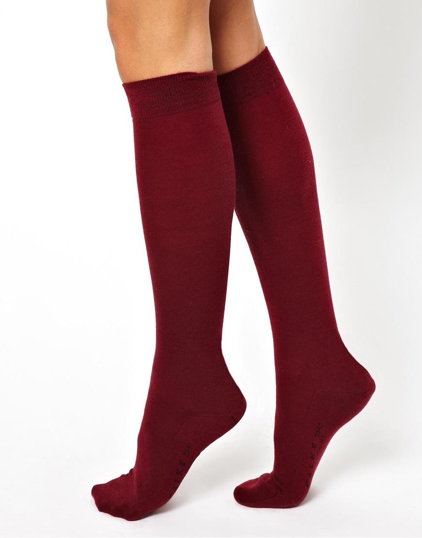 1885f6499b3 Burgundy Knee High Socks - About Sock Photos