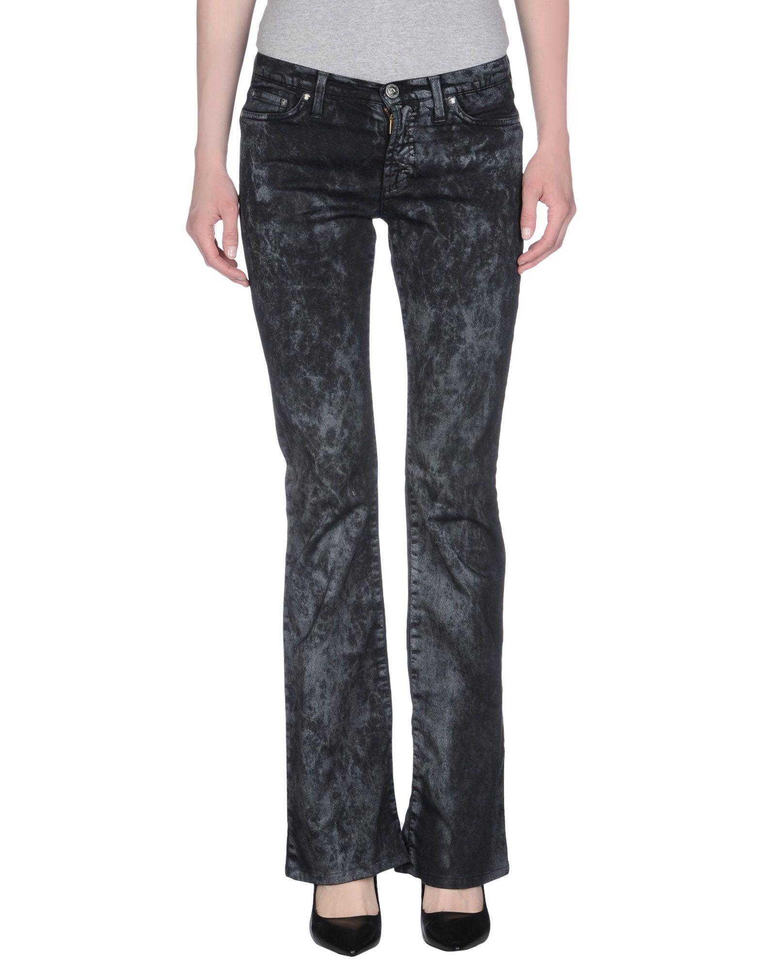 Elegant Versace Jeans Women39s Black Casual Trouser