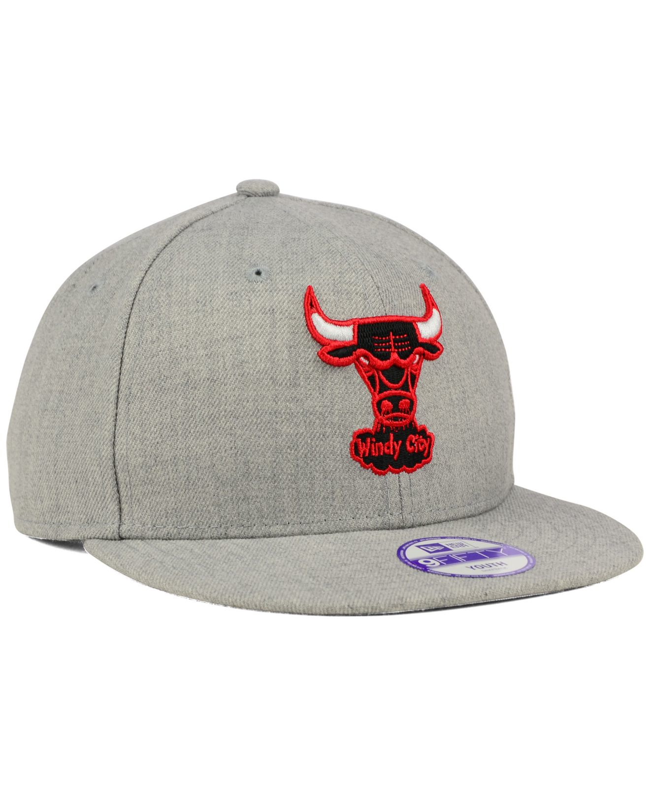 more photos 168fd a9c77 shop new era kids chicago bulls essential 9forty cap d0f90 df079  sale lyst  ktz kids chicago bulls heather team color 9fifty snapback 44a49 f41d7