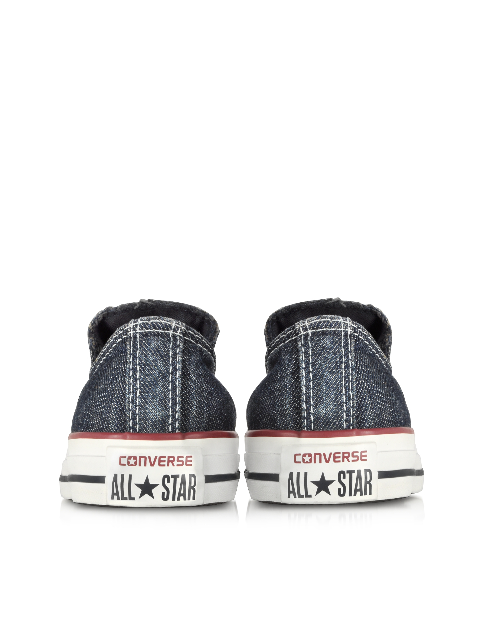 63ecfa32add0f3 Lyst - Converse Chuck Taylor All Star Ox Denim Slip On Sneaker in Blue