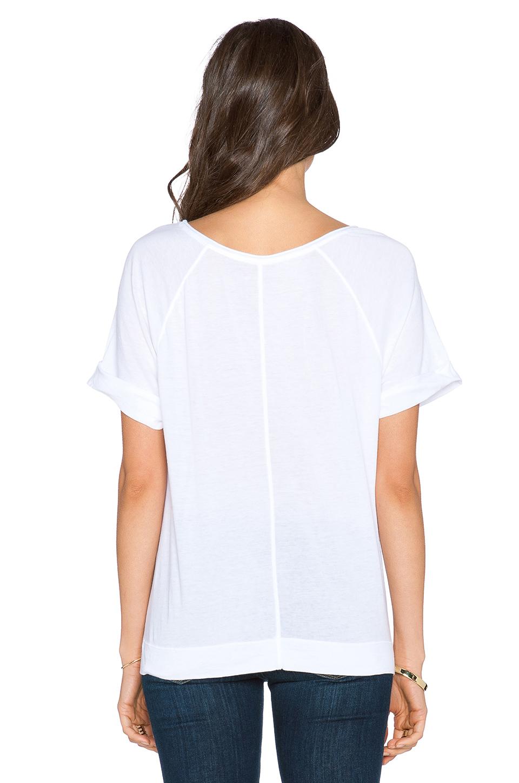 Lyst Three Dots Sweatshirt Tee In White