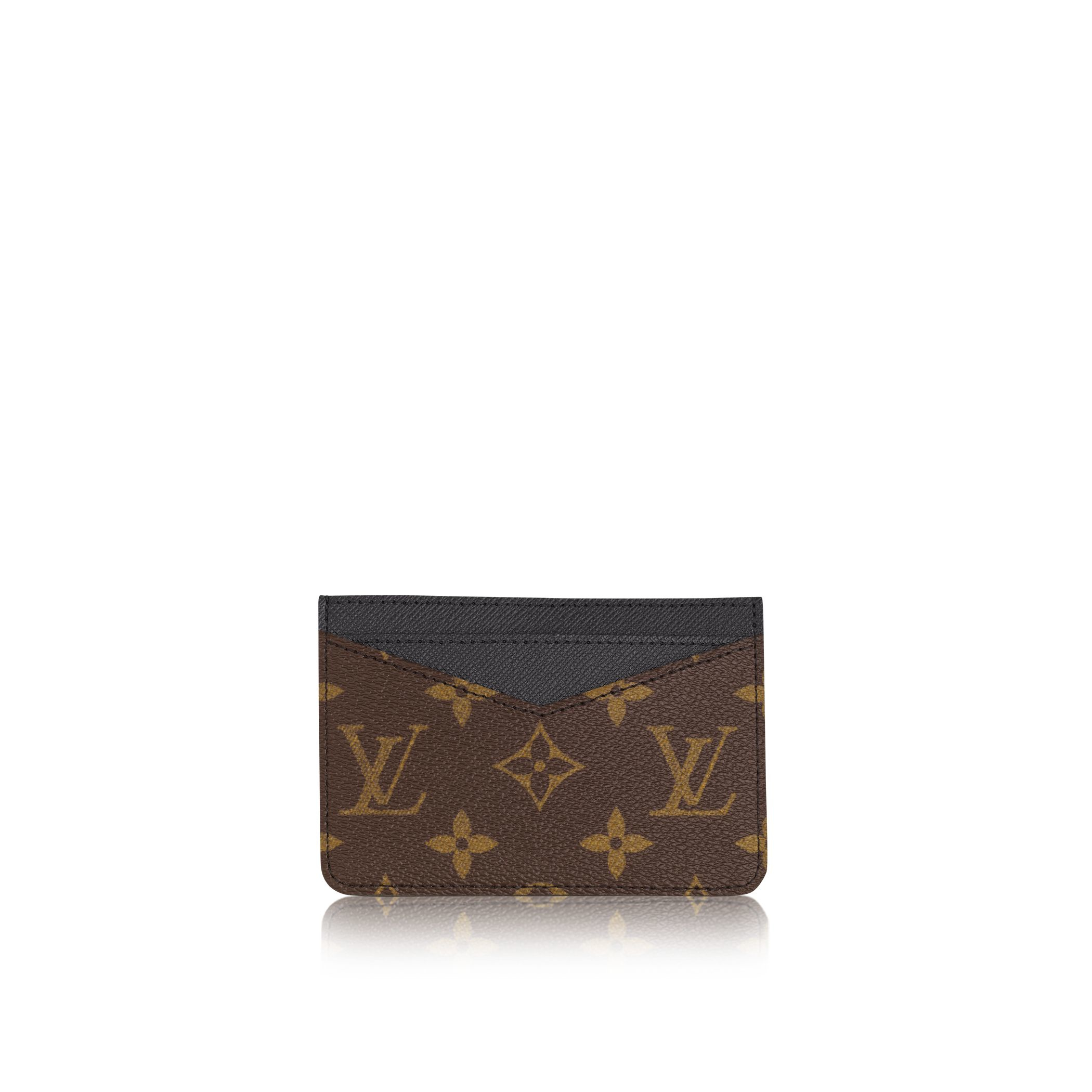 louis vuitton neo porte cartes in blue for lyst
