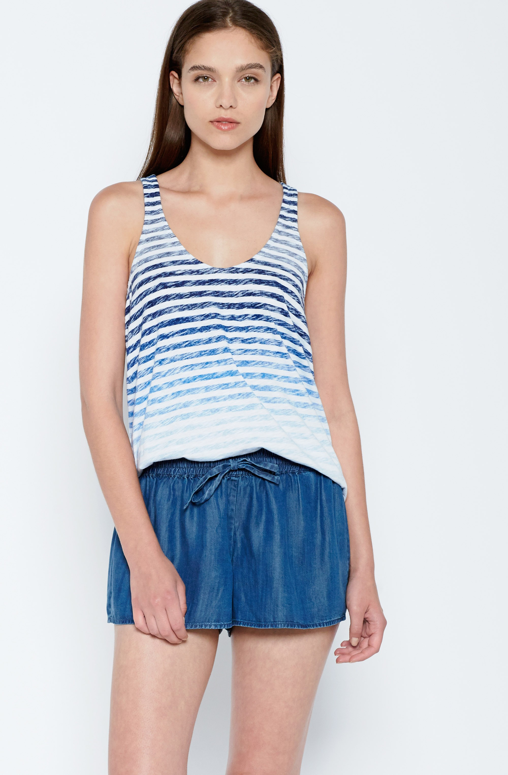 5530304b3657a Lyst - Joie Everett B Top in Blue