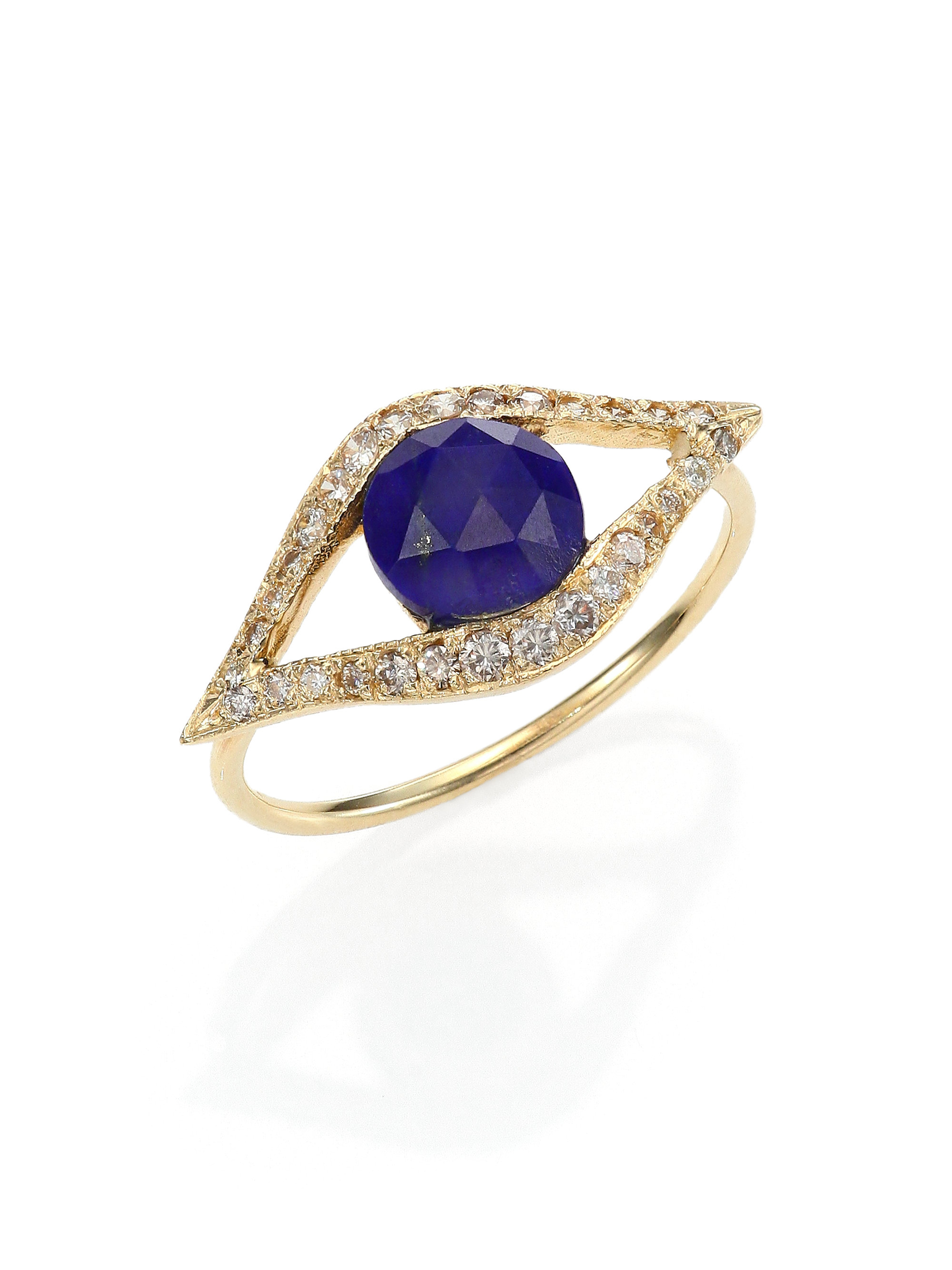 Jacquie Aiche Diamond & yellow-gold ring El4rhNz4