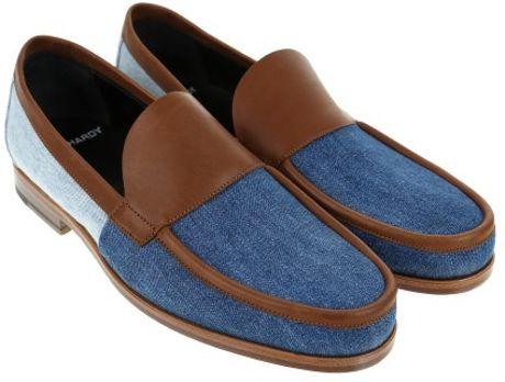 pierre hardy loafers in blue for men lyst. Black Bedroom Furniture Sets. Home Design Ideas