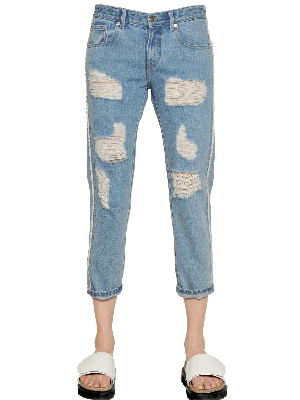 DENIM - Denim trousers Steve J & Yoni P Outlet Footlocker F9CI3efp