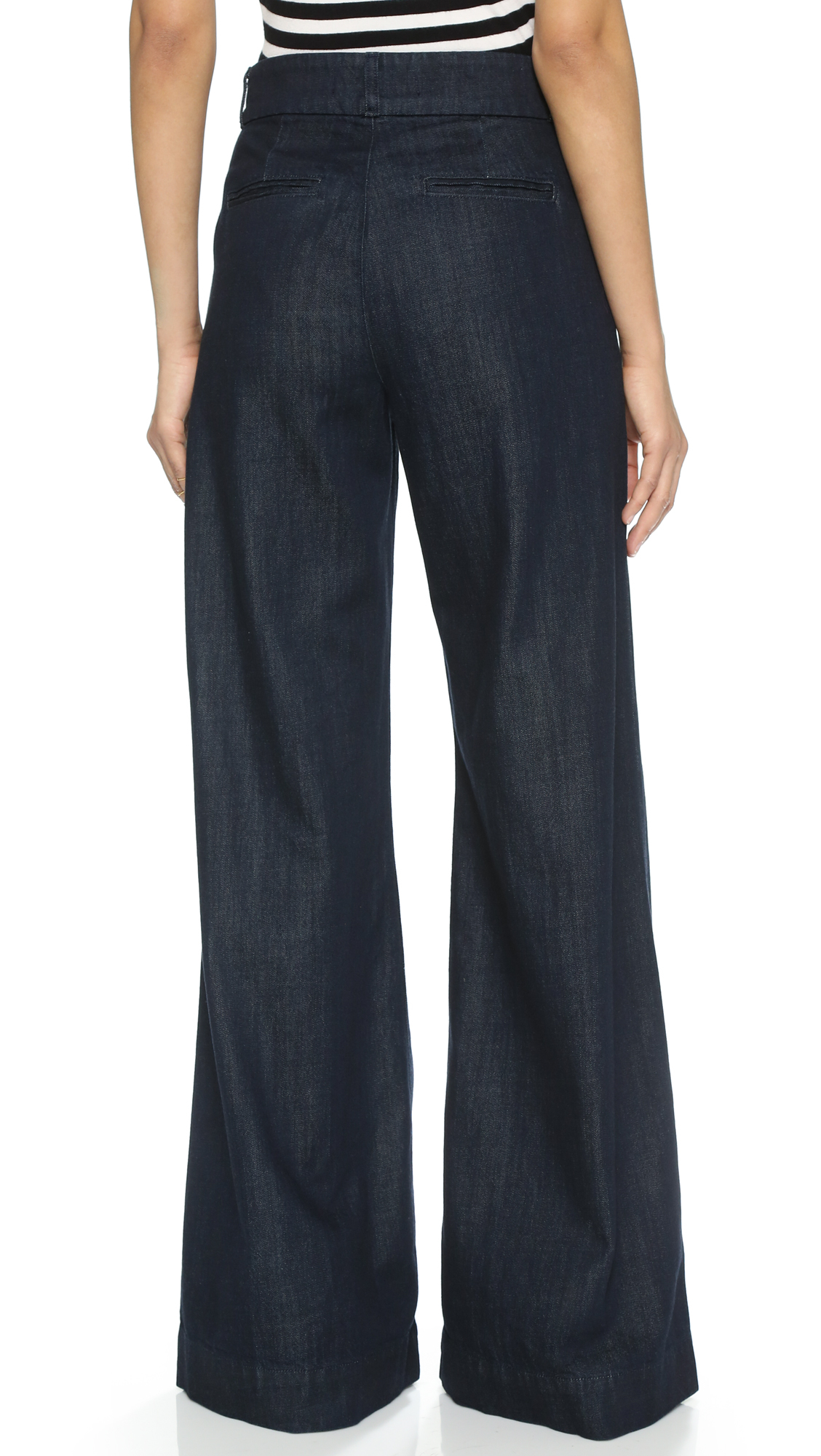Lyst J Brand Melody High Rise Wide Leg Jeans In Blue