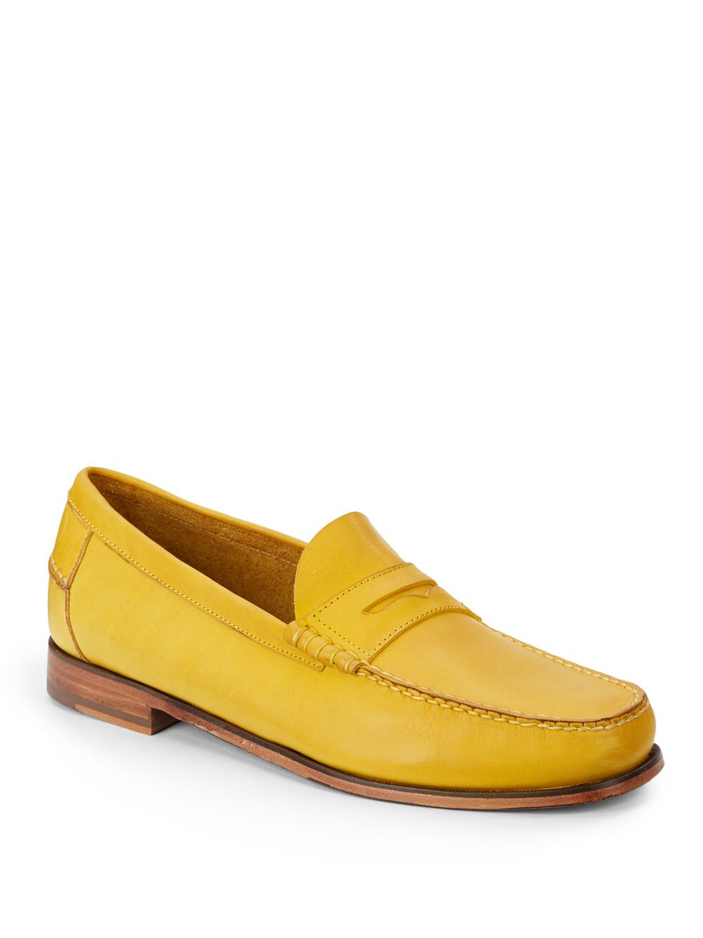 Lyst Florsheim By Duckie Brown Leather Penny Loafers In