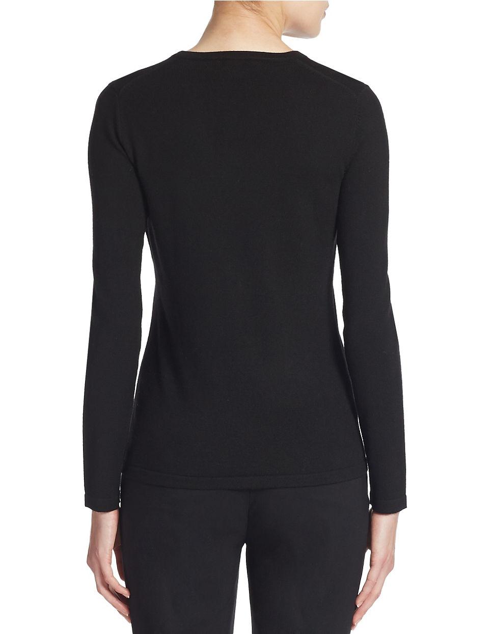 Lyst Lord Taylor Plus Merino Wool Basic V Neck Sweater