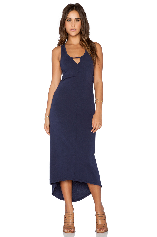 Lyst Nation Ltd Garden State Triangle Dress In Blue