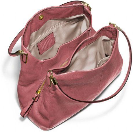 Madison Large Phoebe Shoulder Bag In Leather 12