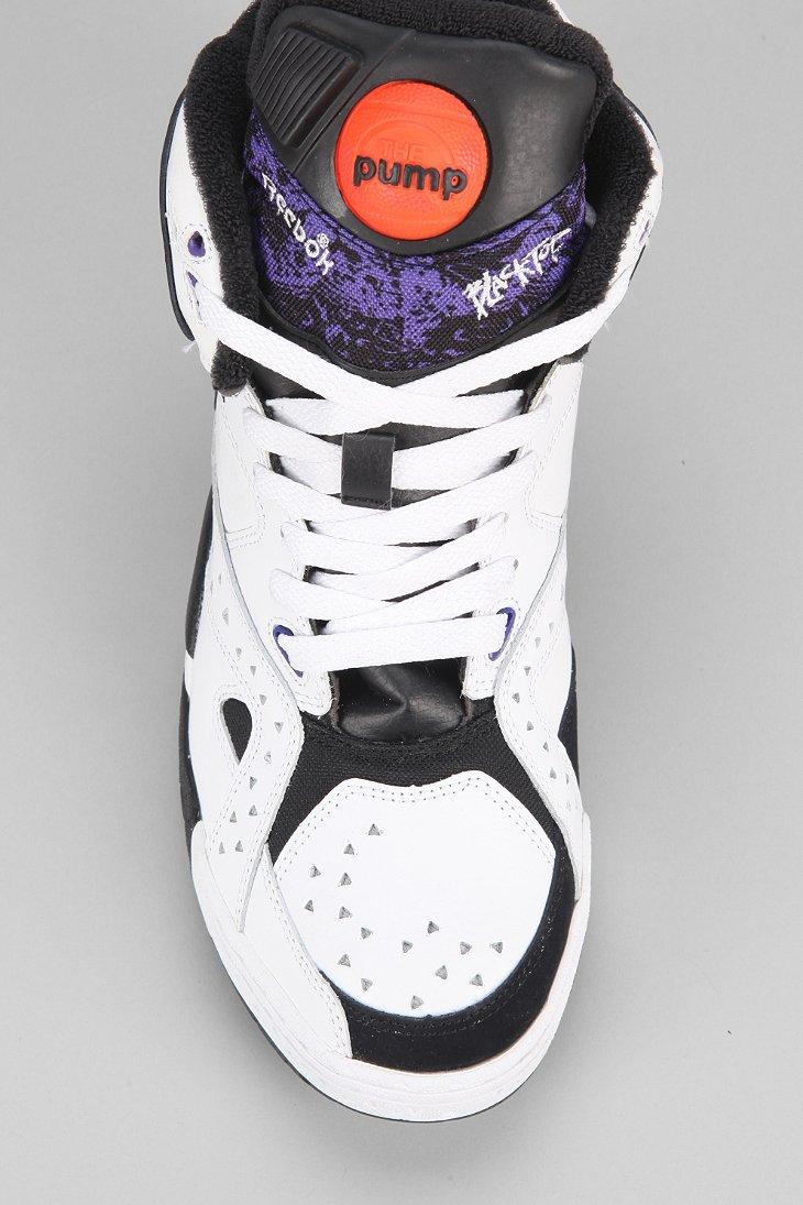 7e91997990a Lyst - Reebok Blacktop Battleground High-Top Sneaker in White for Men