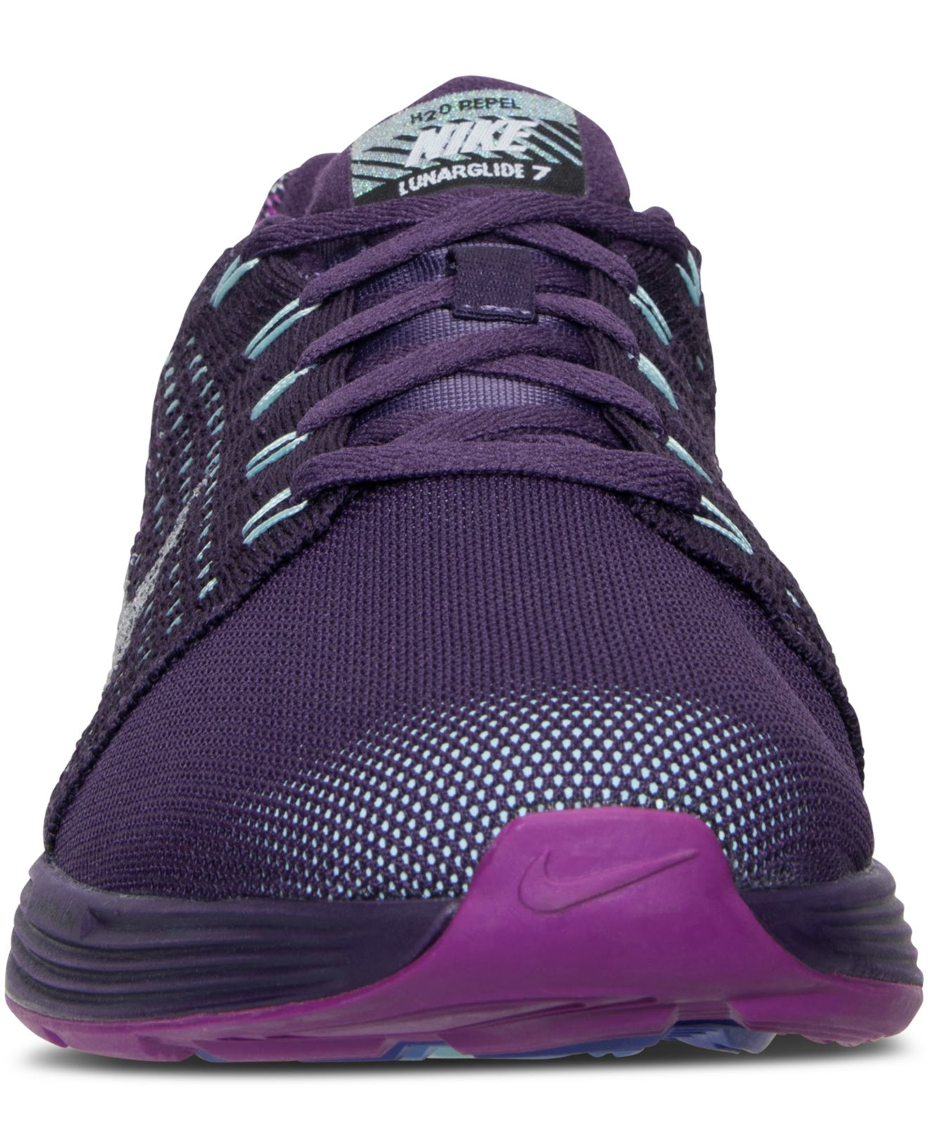 new style 33c4f c3aa6 ... spain lyst nike womens lunarglide 7 flash running sneakers from finish  35cc5 d3c7e