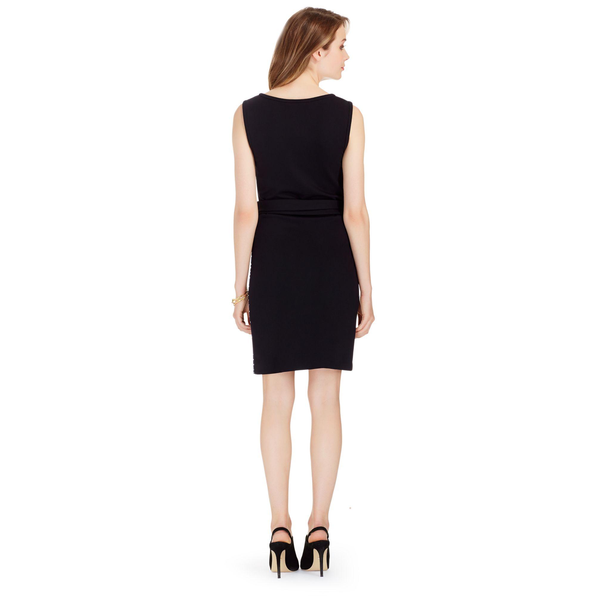 Diane Von Furstenberg Dvf Dhalia Silk Jersey Shift Dress