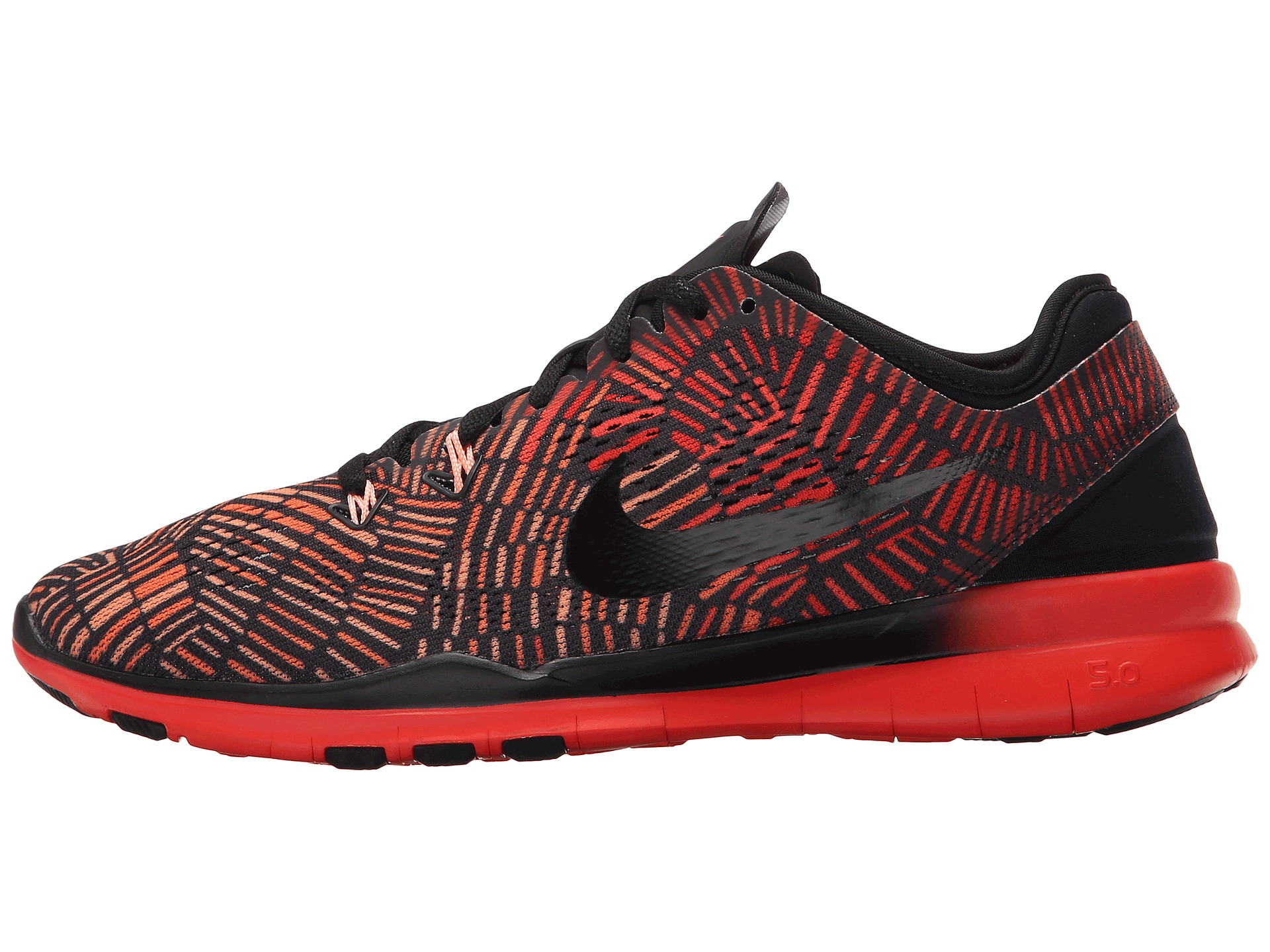 factory price 894ac 44381 Nike Free 5.0 Tr Fit 5 Prt in Red - Lyst