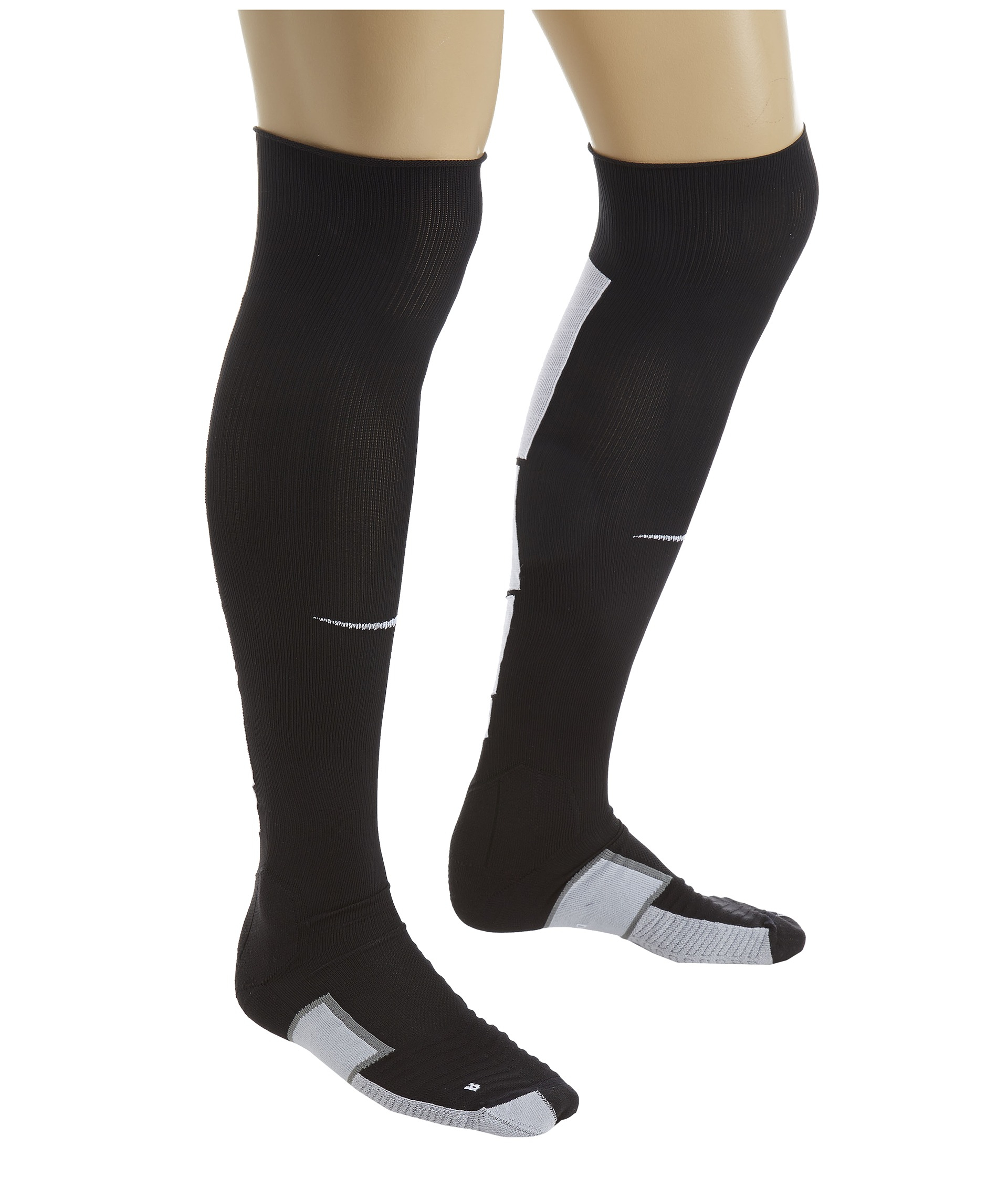 Nike Elite Match Fit Soccer Over The Calf in Black | Lyst